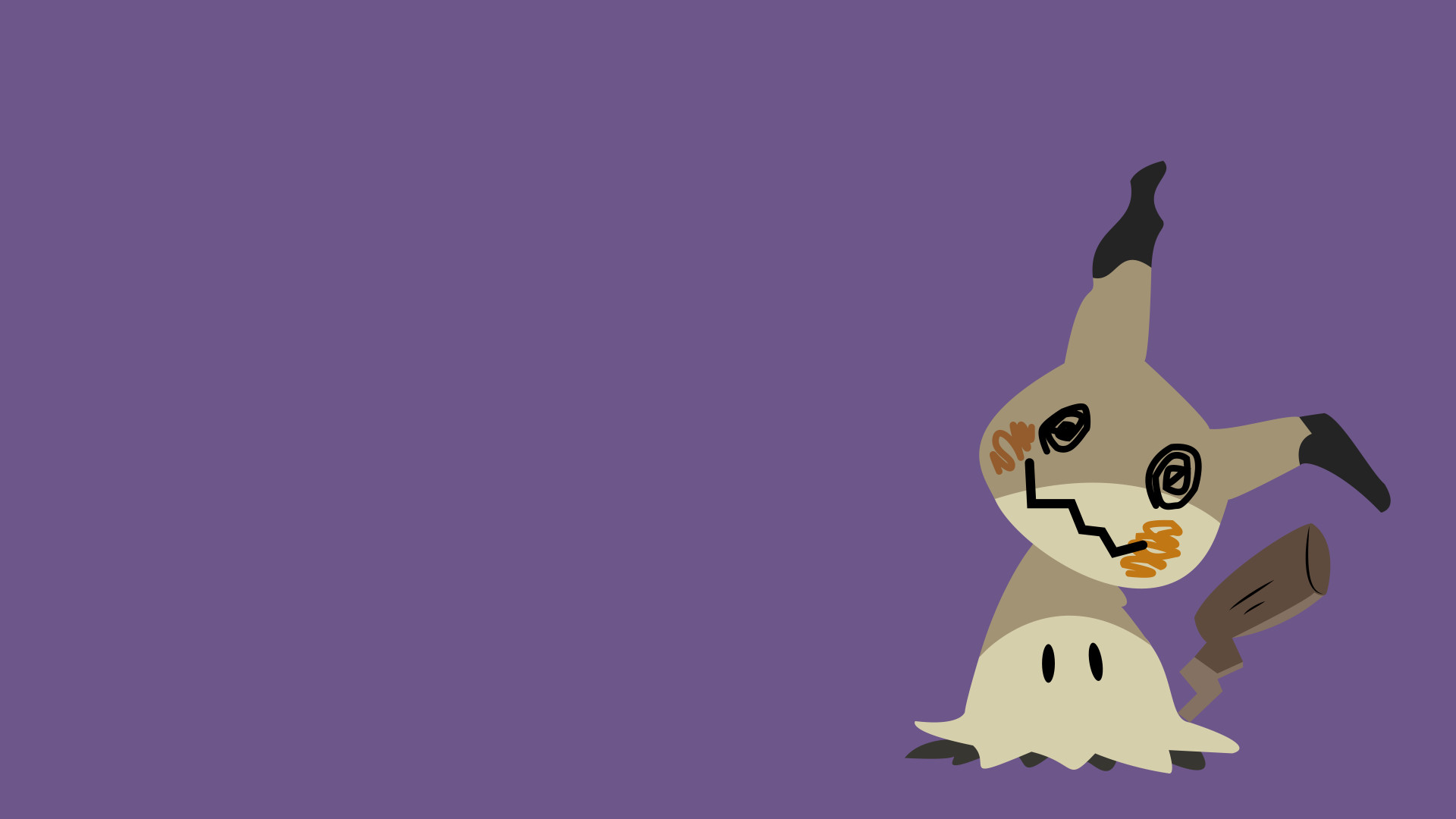 1920x1080 Mimikyu Pokemon Sun and Moon: ...