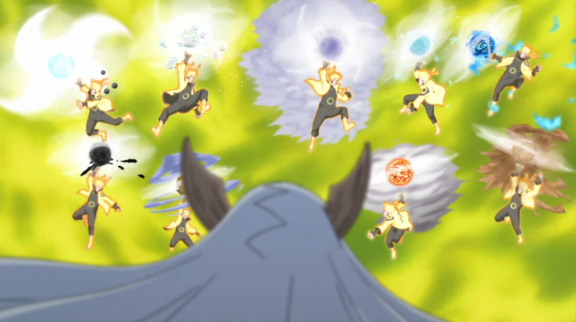 2000x1121 Sage Art: Super Tailed Beast Rasenshuriken | Narutopedia | FANDOM powered  by Wikia