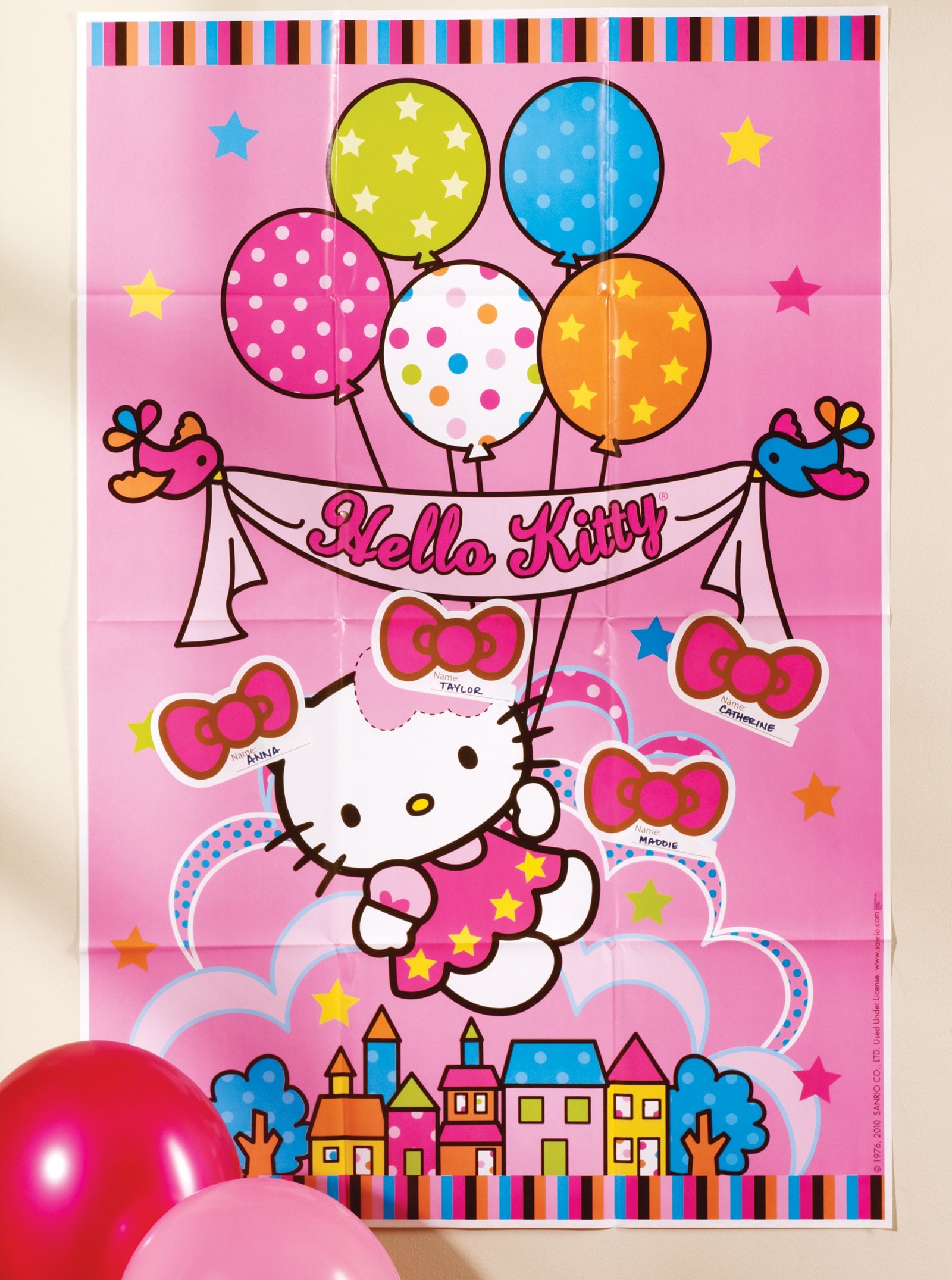 1600x2151 hello kitty birthday party games clipart