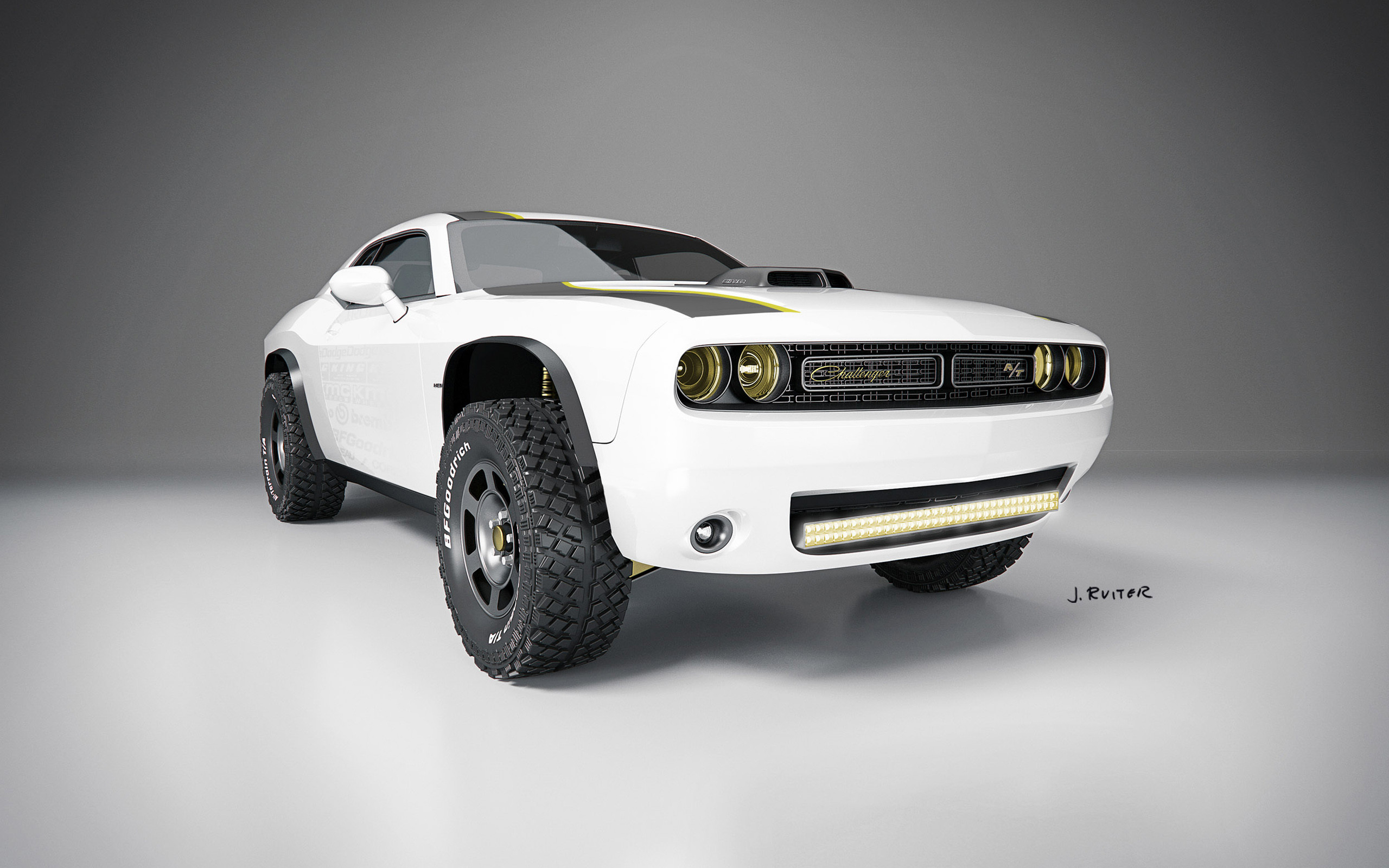 2560x1600 2014 Dodge Challenger AT Untamed Concept WallPaper HD - http://imashon.com