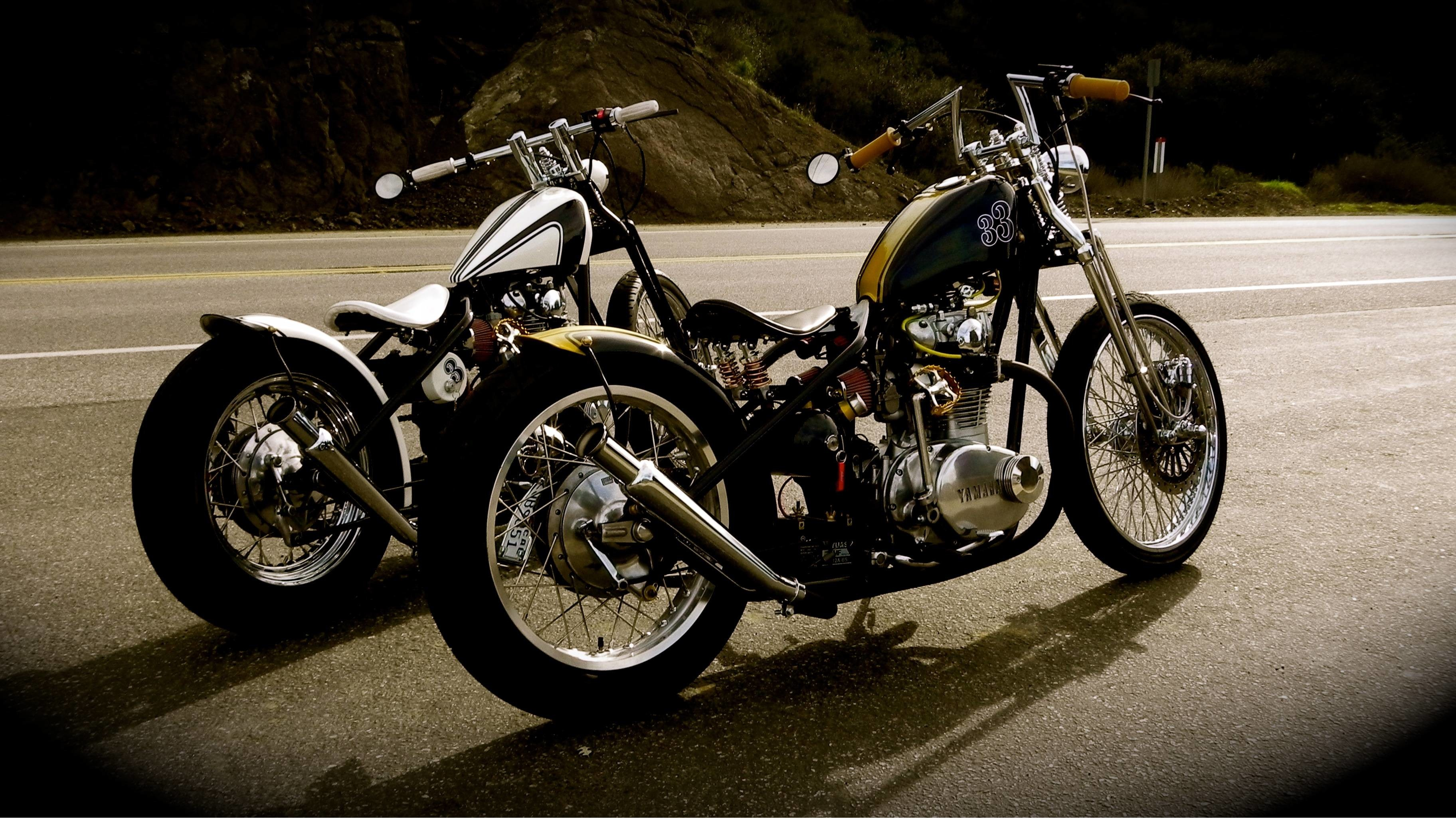 3648x2051 Pix For > Bobber Motorcycle Wallpaper