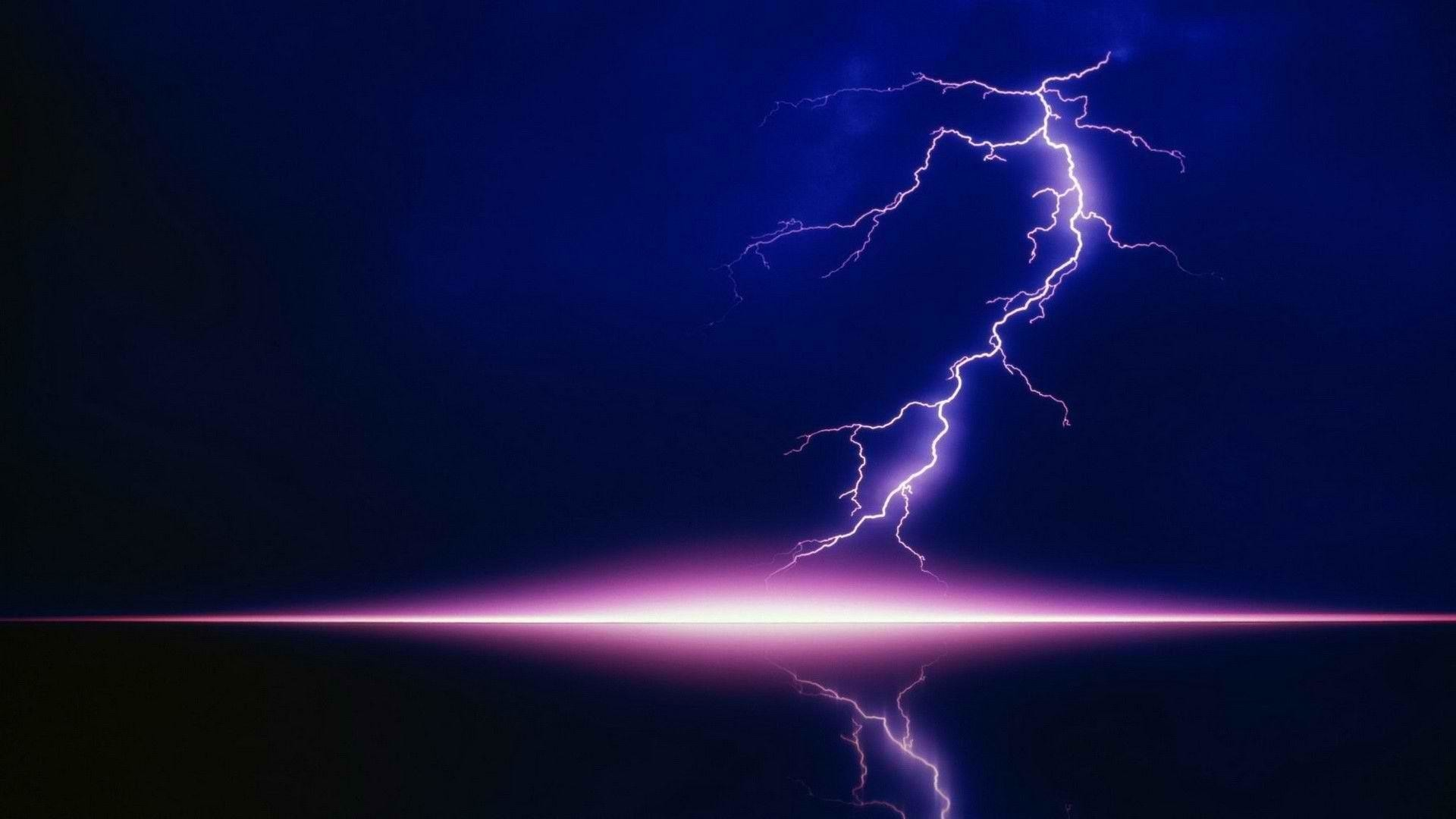 1920x1080 HD Wallpapers - Download Purple Lightning Wallpaper | 100% High .