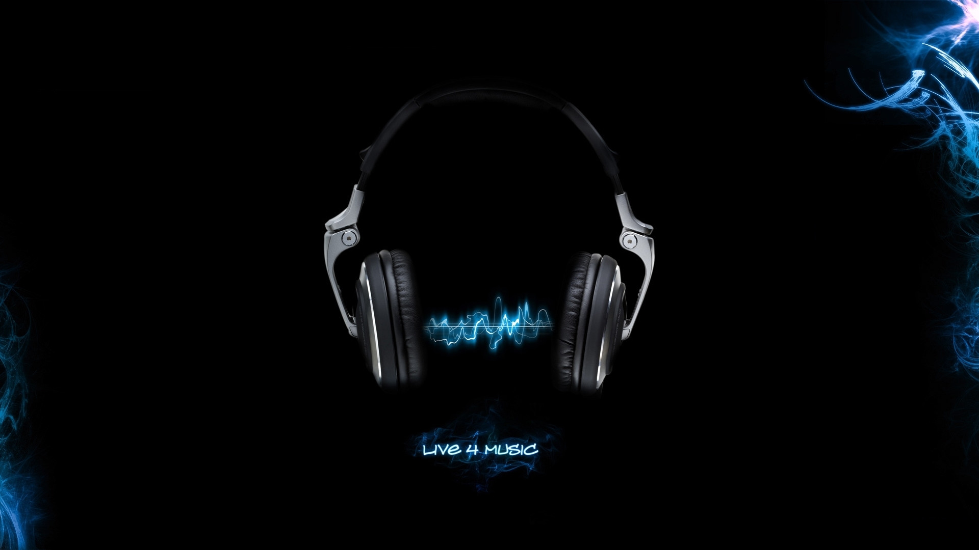1920x1080 Headset Live for Music & HD Wallpaper Music