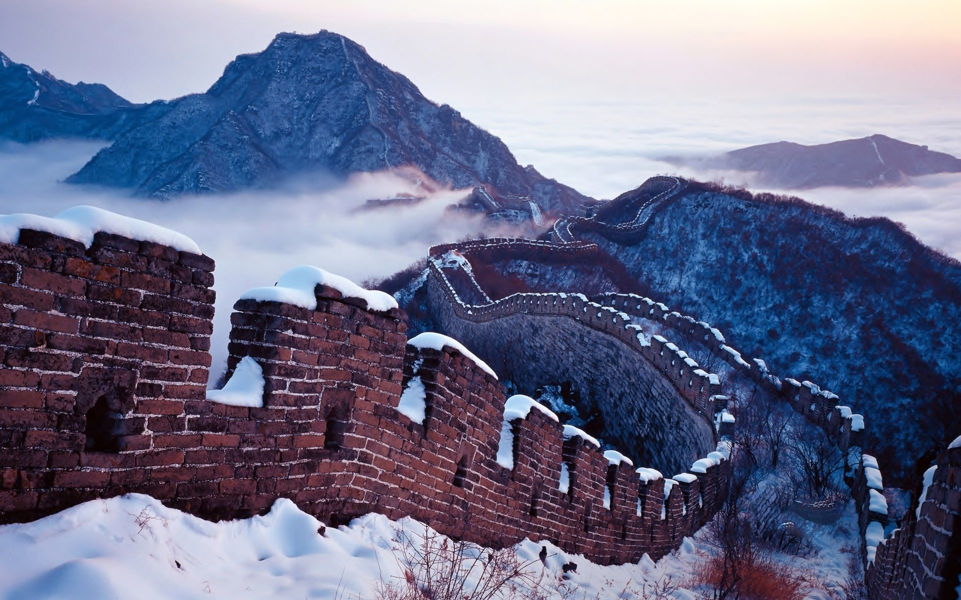 1920x1200 Great Wall Of China Wallpapers