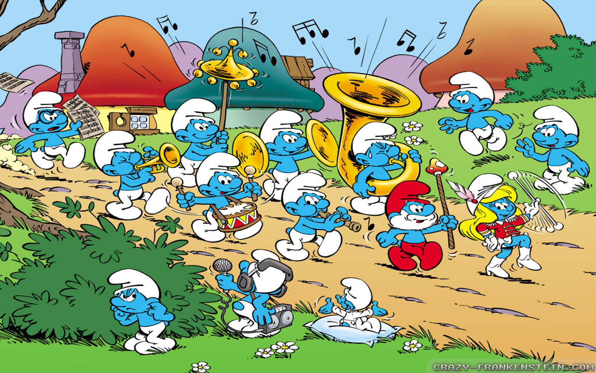 Smurf Wallpapers (58+ images)