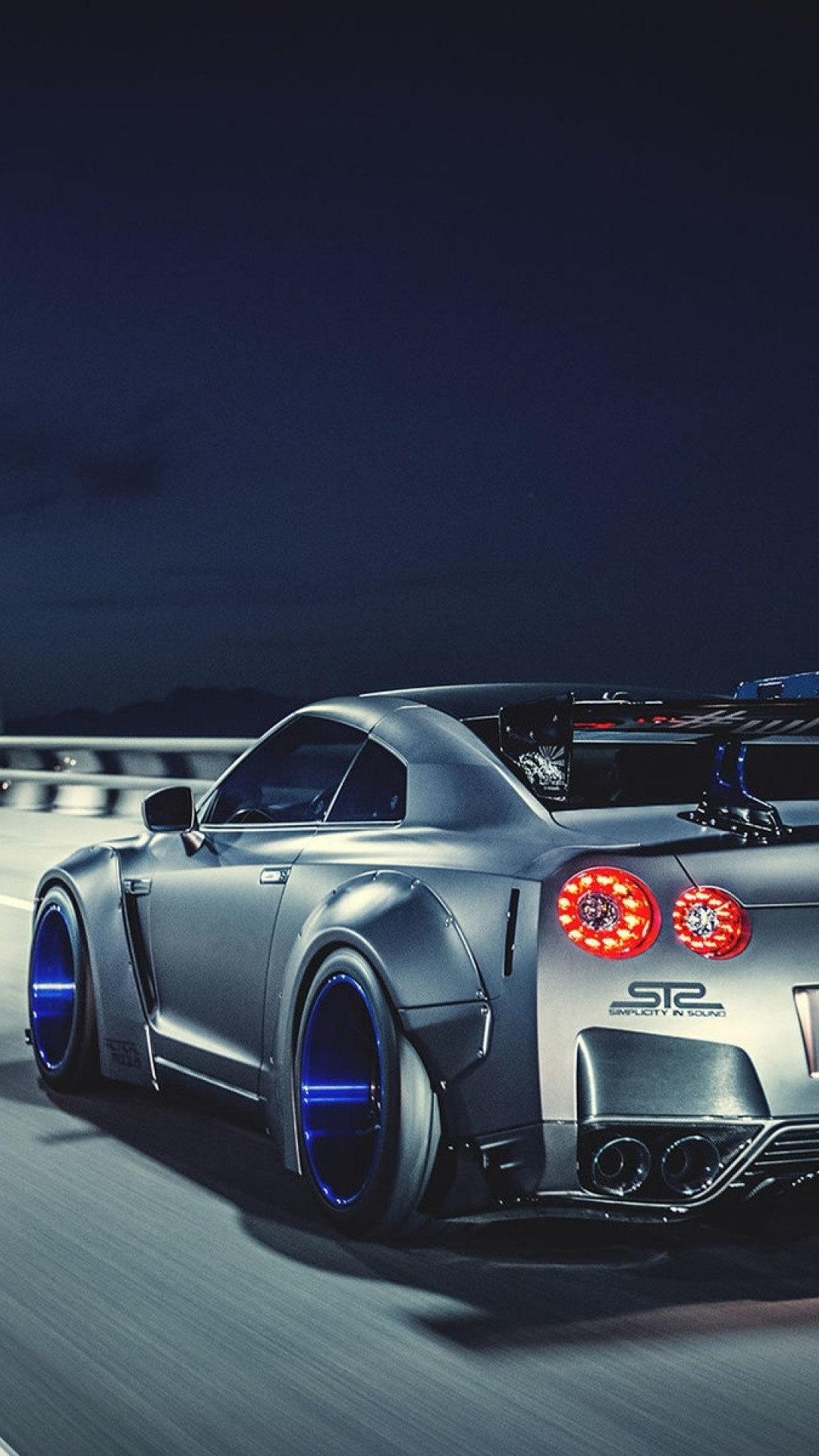 1080x1920 Liberty Walk Nissan GTR Highly Modified Street Racer