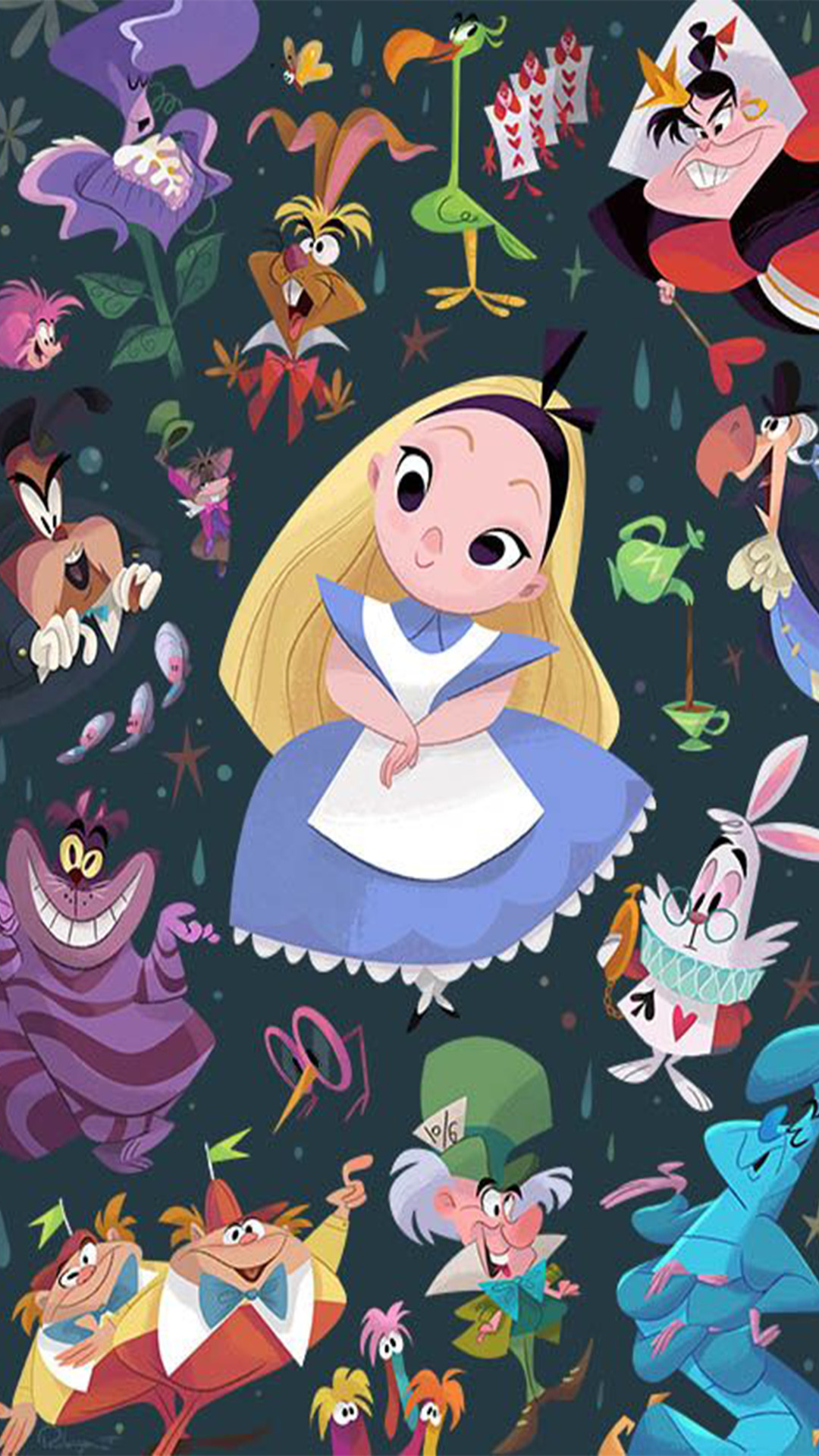 Alice In Wonderland Wallpaper Iphone 65 Images
