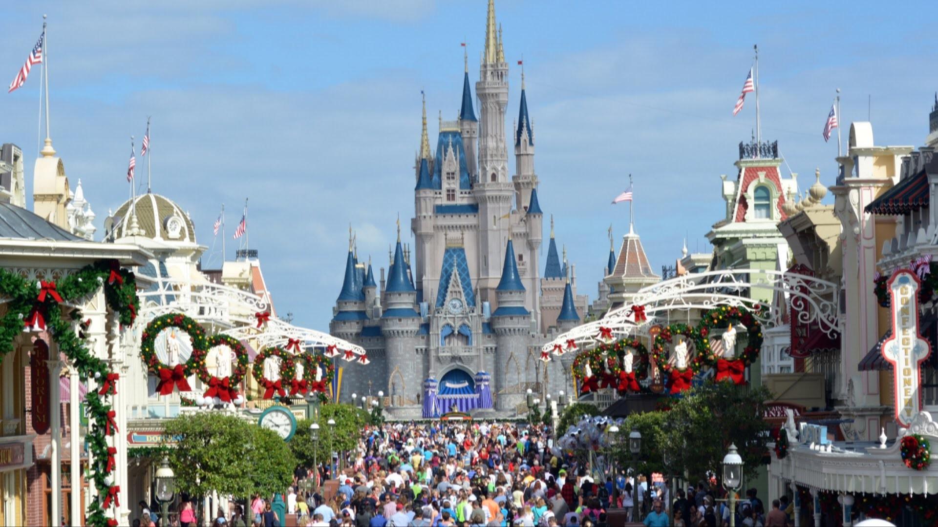 Christmas Magic Hd Wallpapers: Walt Disney World HD Wallpaper (71+ Images