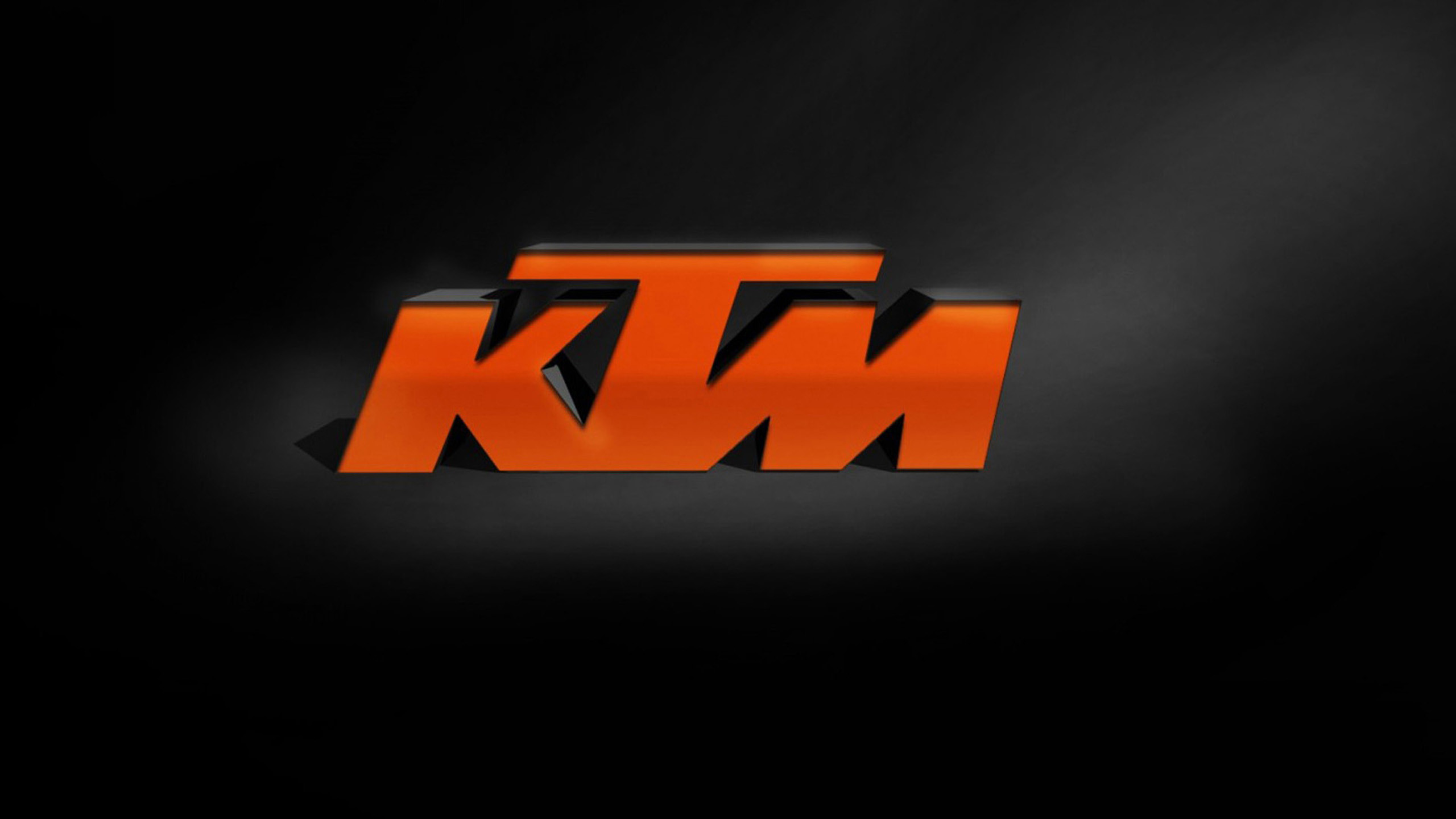 2560x1440 KTM Logo Wallpaper