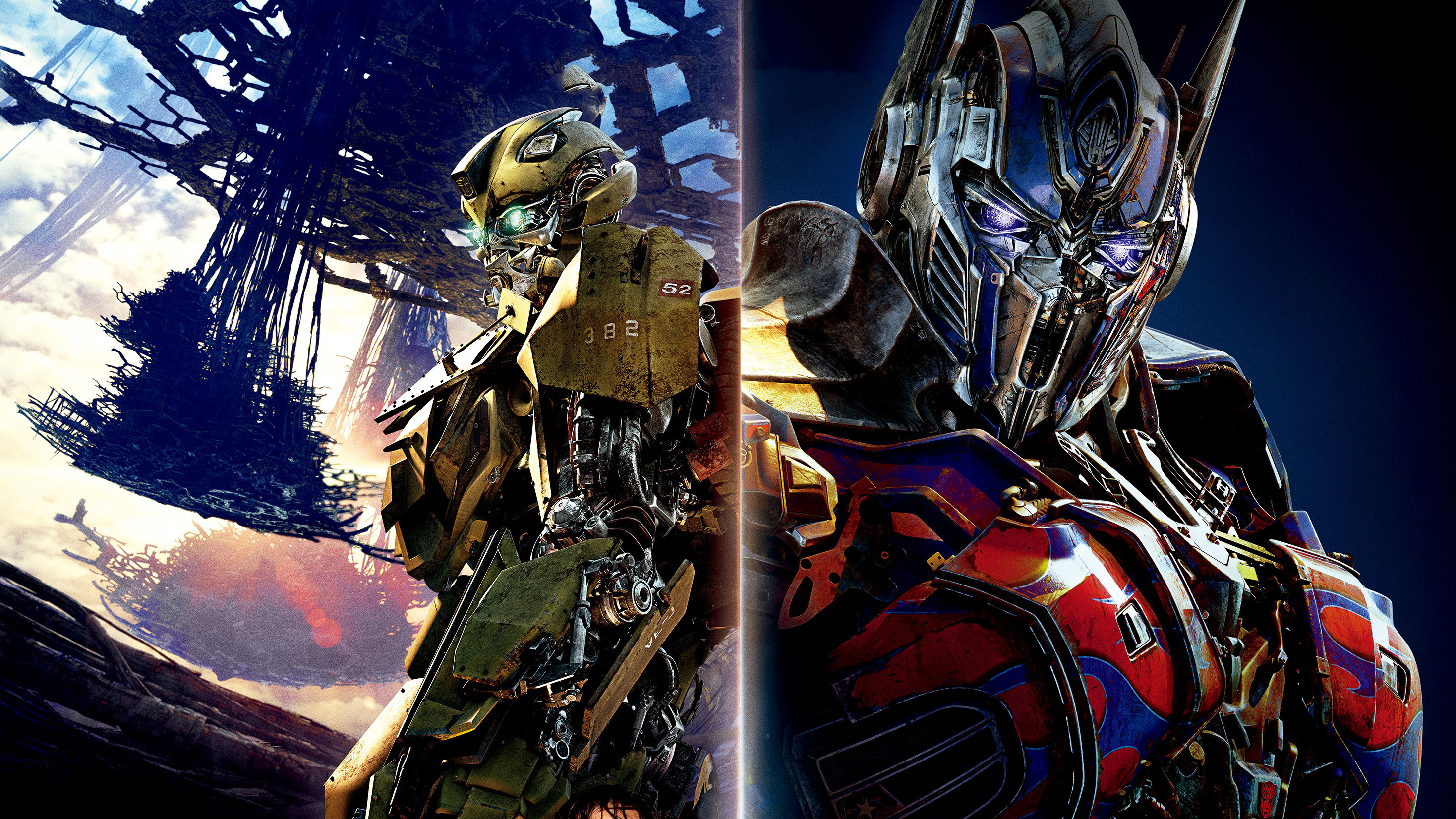 2937x1652 Bumblebee vs Optimus Prime