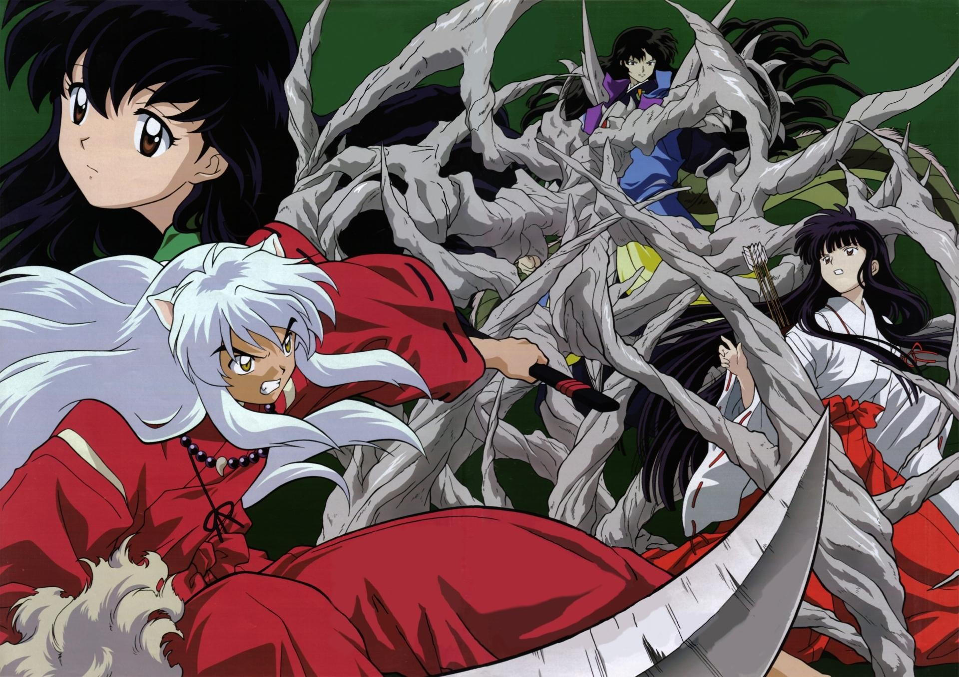 1920x1357 InuYasha wallpapers