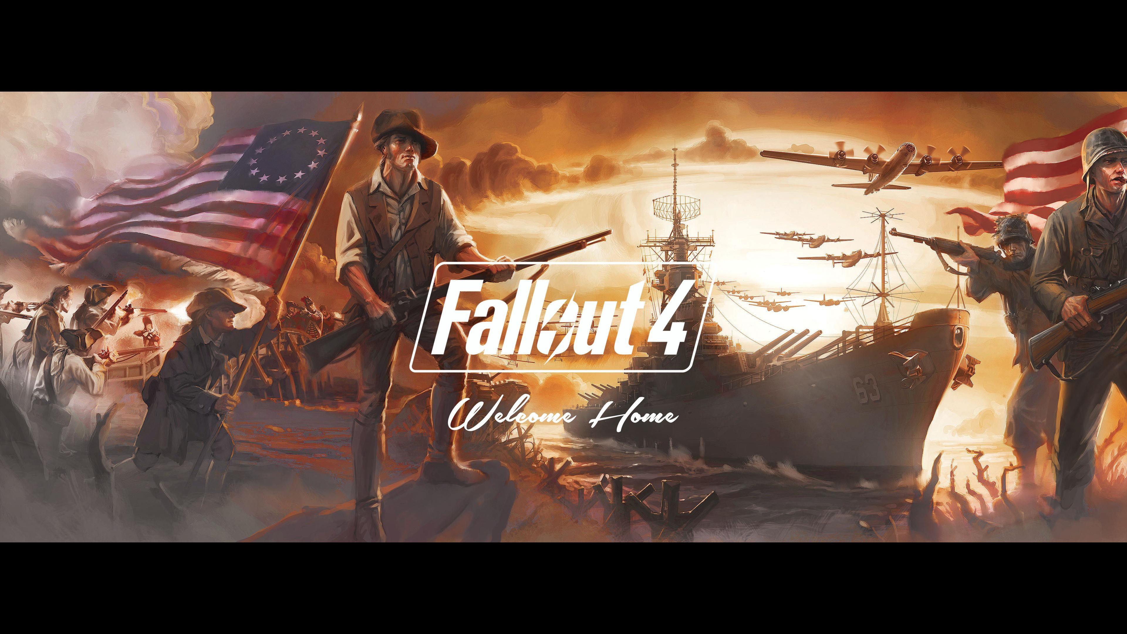 3840x2160 Fallout 4 2015
