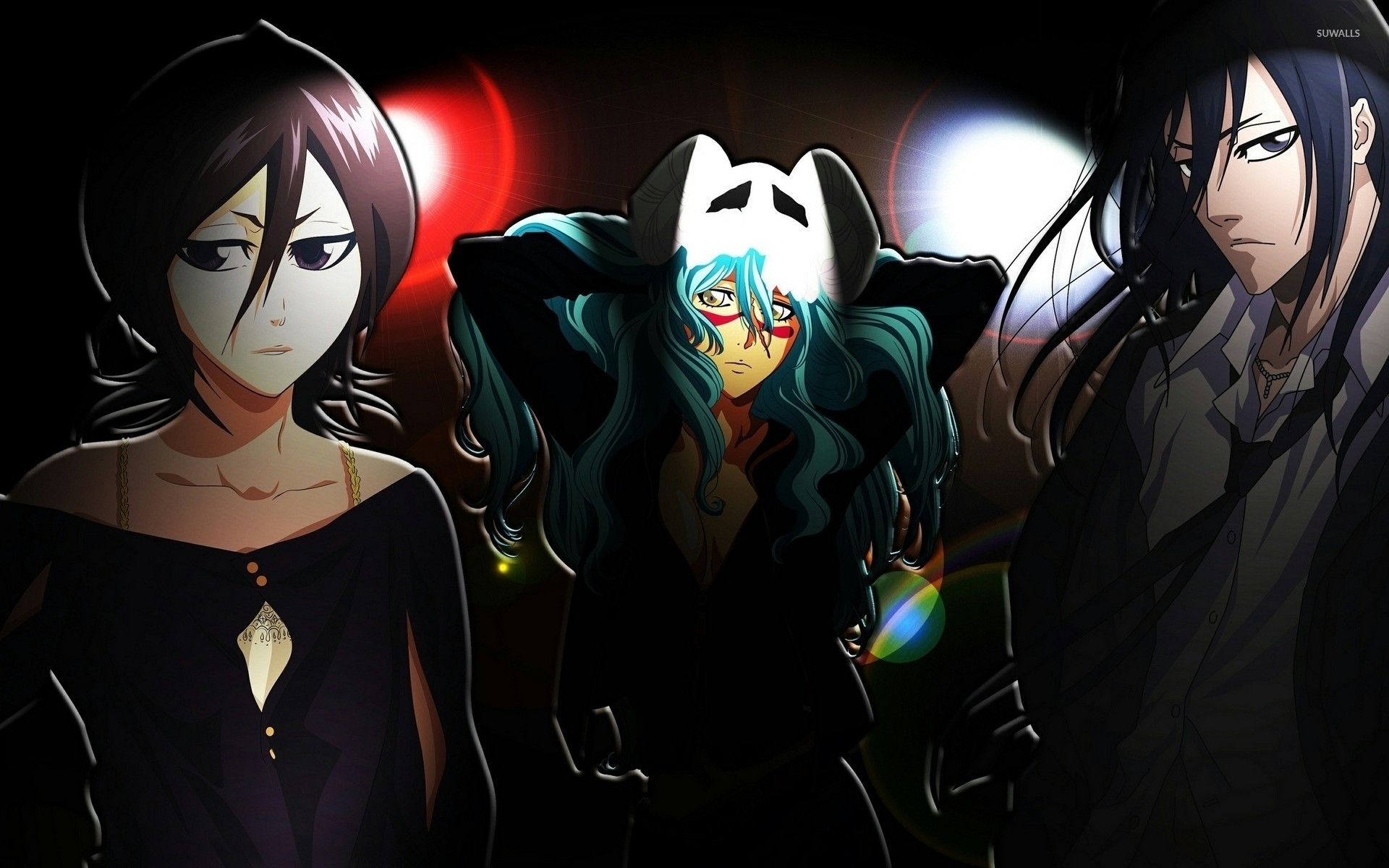 1920x1200 Rukia, Nelliel and Byakuya - Bleach wallpaper