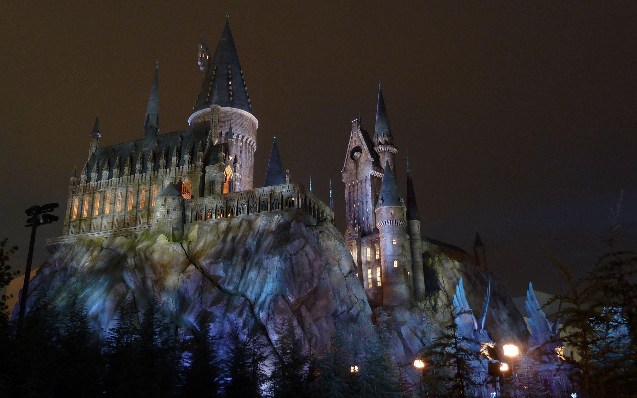 Harry Potter Christmas Wallpaper Hd.Winter Castle Wallpaper 66 Images