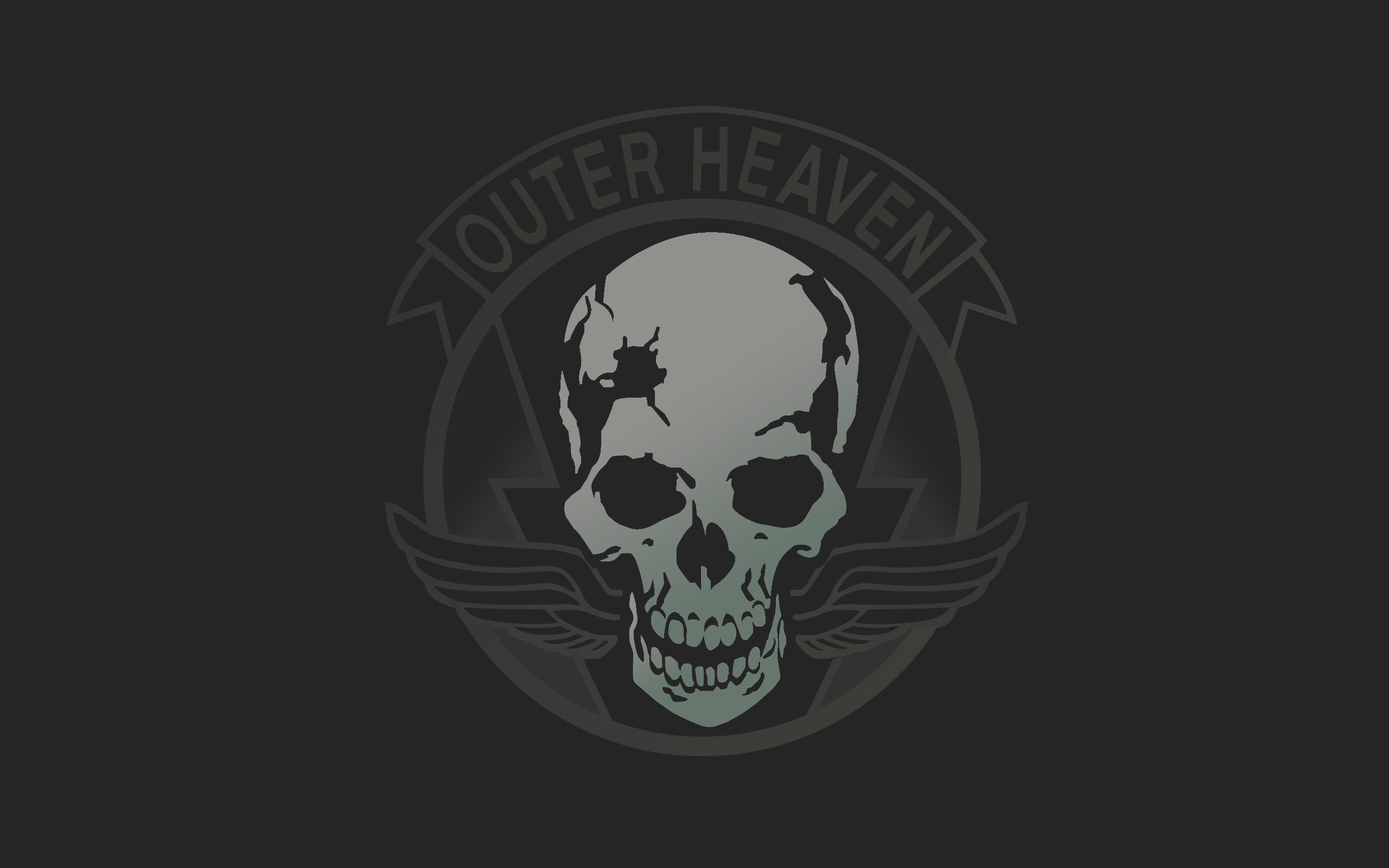 2560x1600 Outer heaven wallpaper I made [] ...