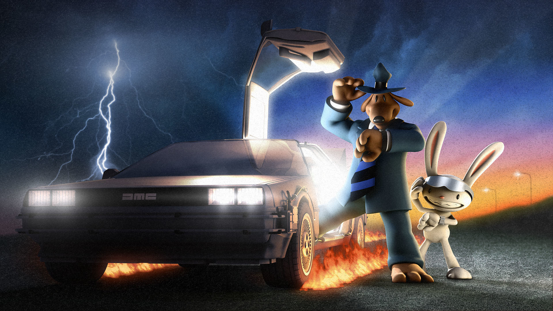 1920x1080 Video games Back to the Future Sam And Max DeLorean DMC-12 wallpaper |   | 60232 | WallpaperUP