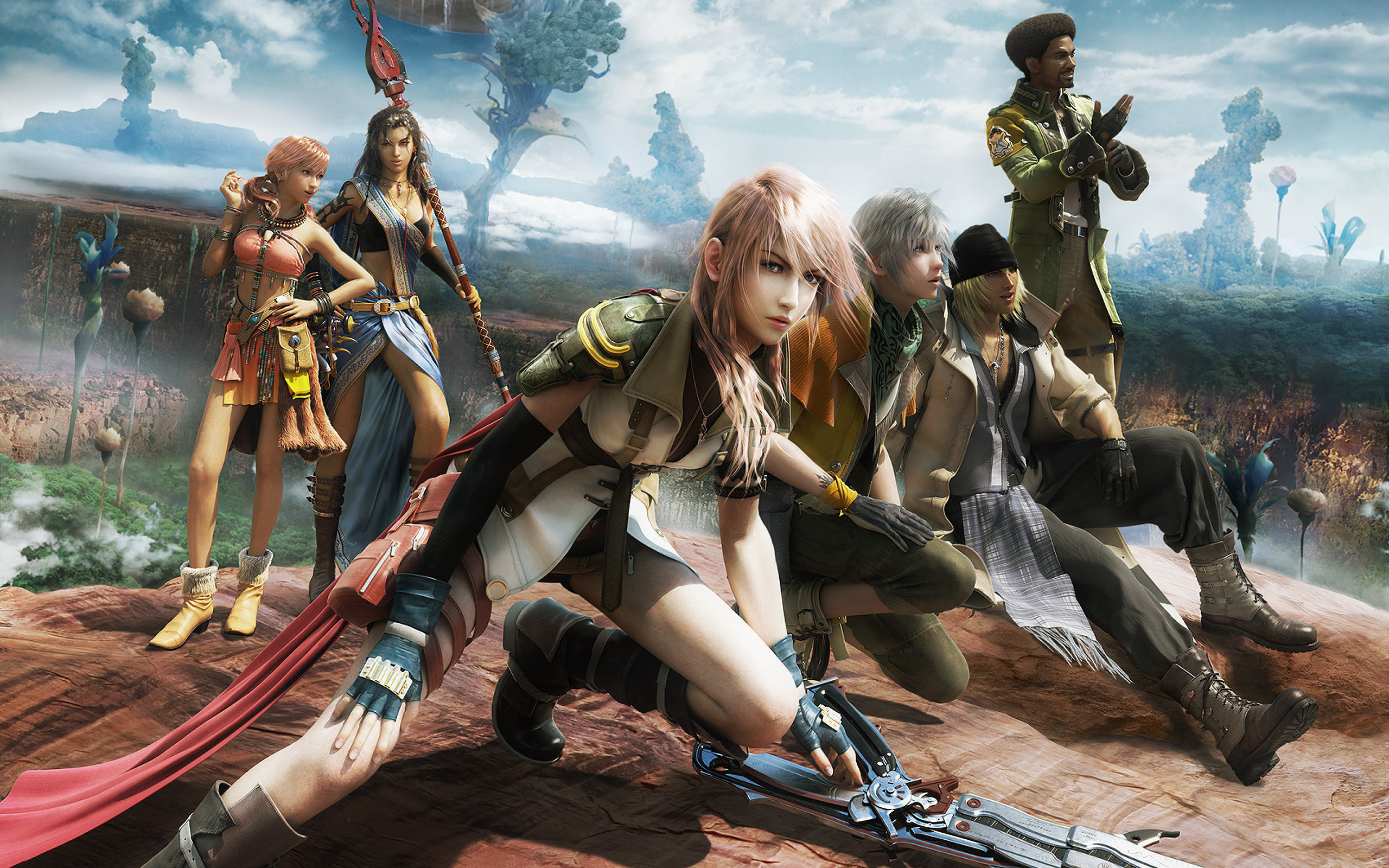 2560x1600  Desktop Wallpaper Final Fantasy Xiii #h354969 | Games HD Images