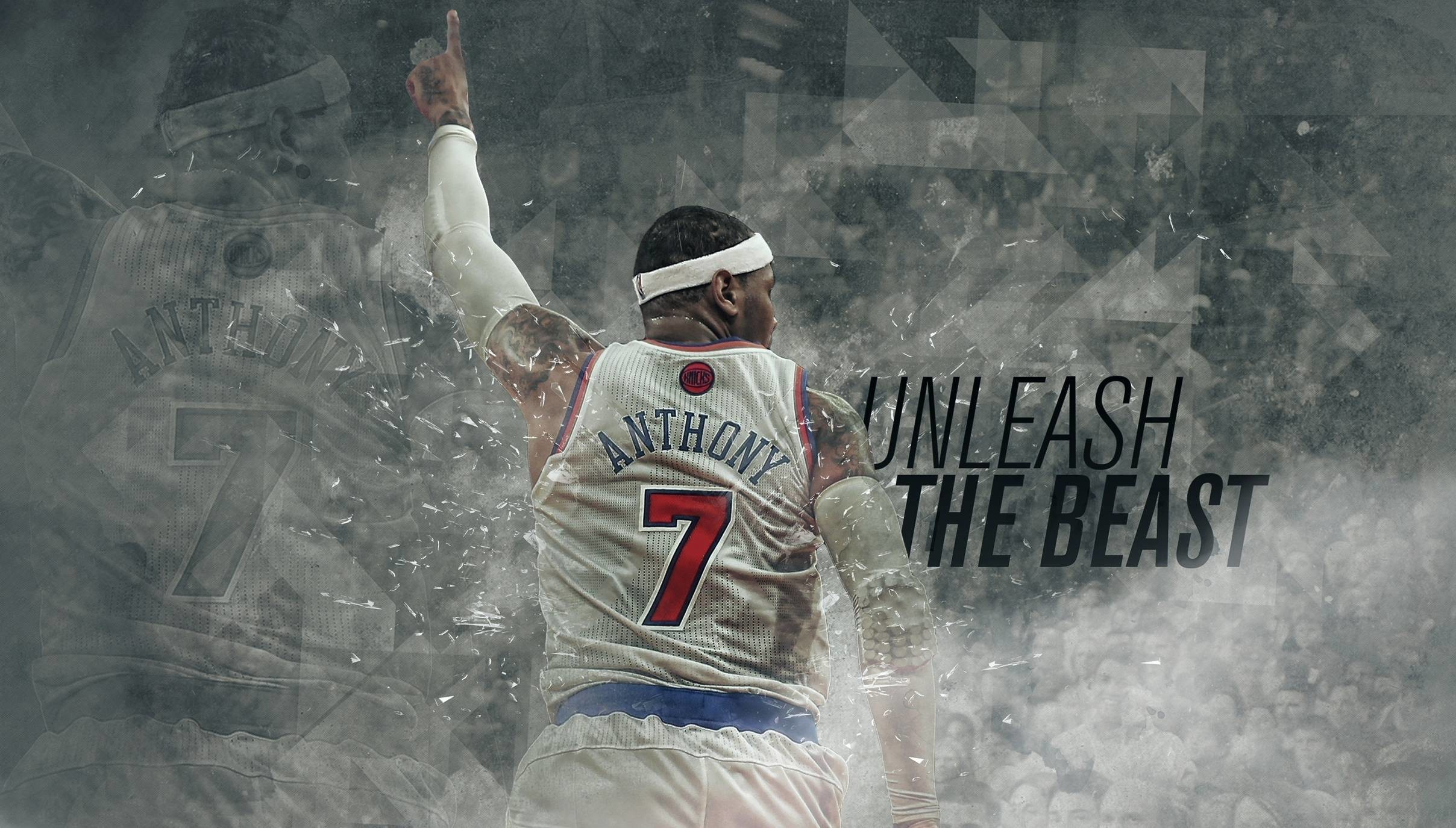 2416x1375 Wallpaper carmelo, anthony, nba wallpapers sports - download