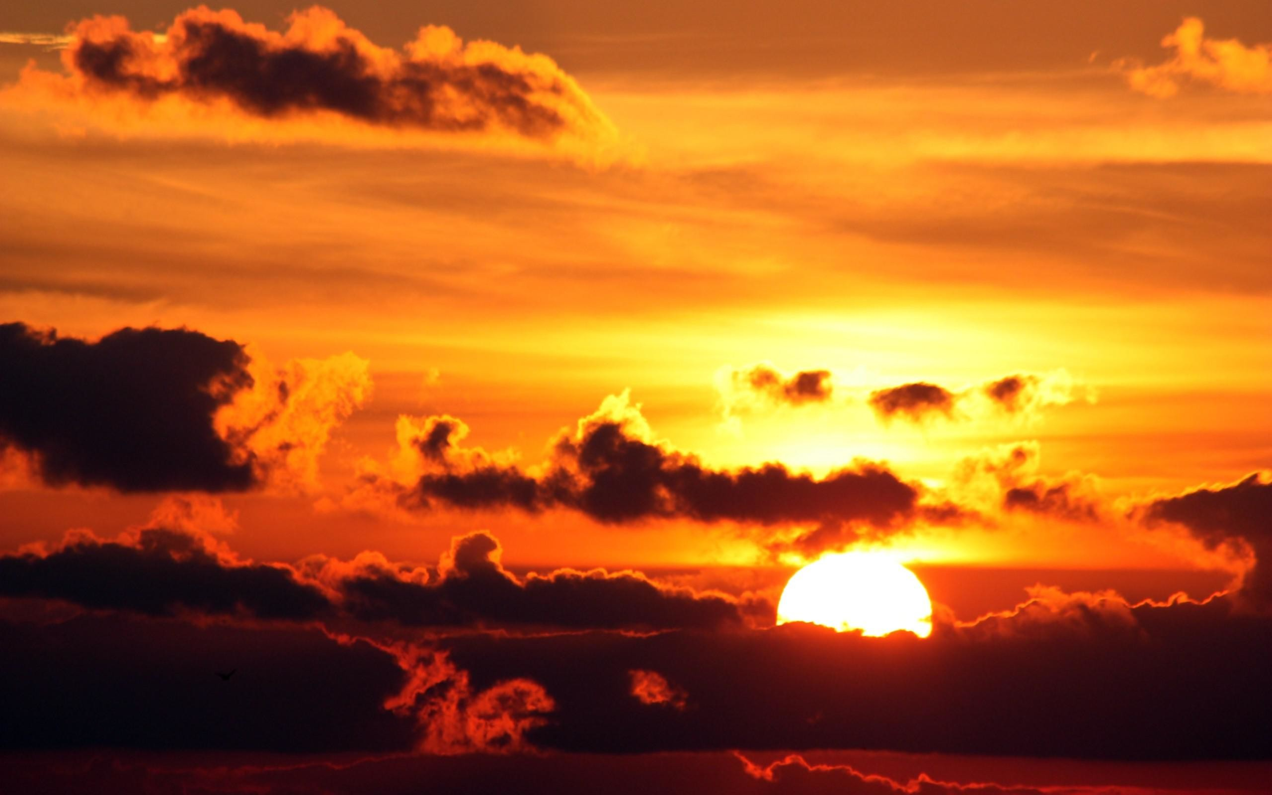 2560x1600 awesome sunset clouds landscapes nature sun skyscapes for desktop wallpaper  Check more at http:/