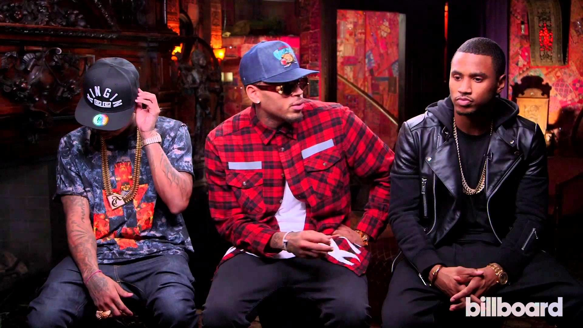 1920x1080 Chris Brown, Trey Songz & Tyga Talk 'Between the Sheets' Tour - YouTube