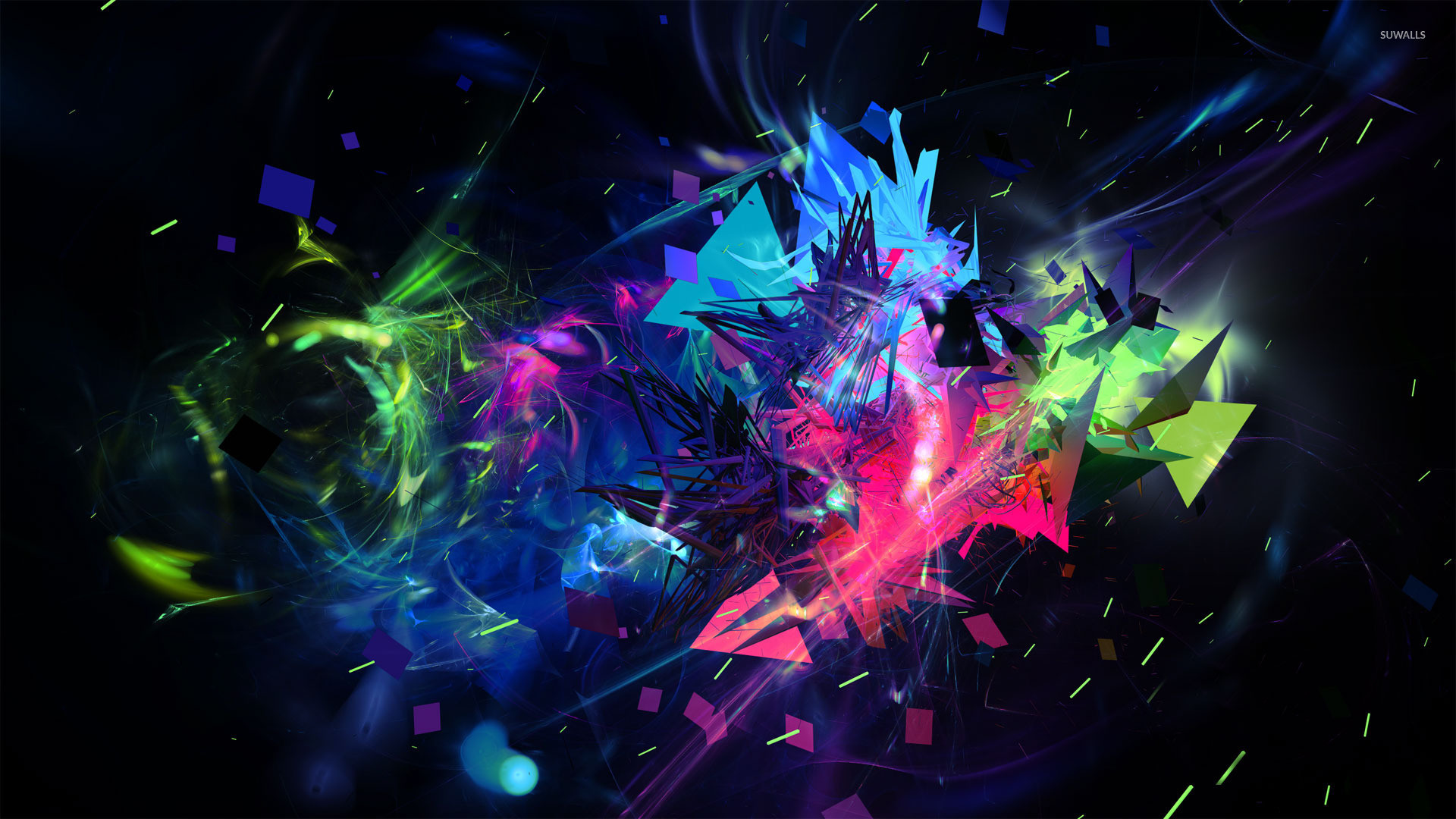 Abstract Shapes Wallpaper (63+ Images