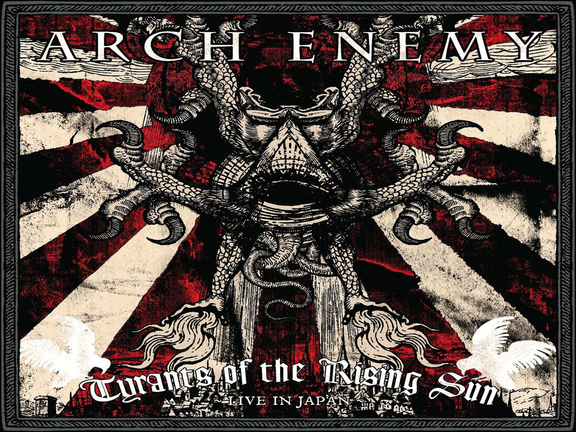 1920x1440 Arch Enemy Death Metal Heavy Progressive Thrash Poster Dark Skull Occult  Evil Satanic Wallpaper At Dark Wallpapers