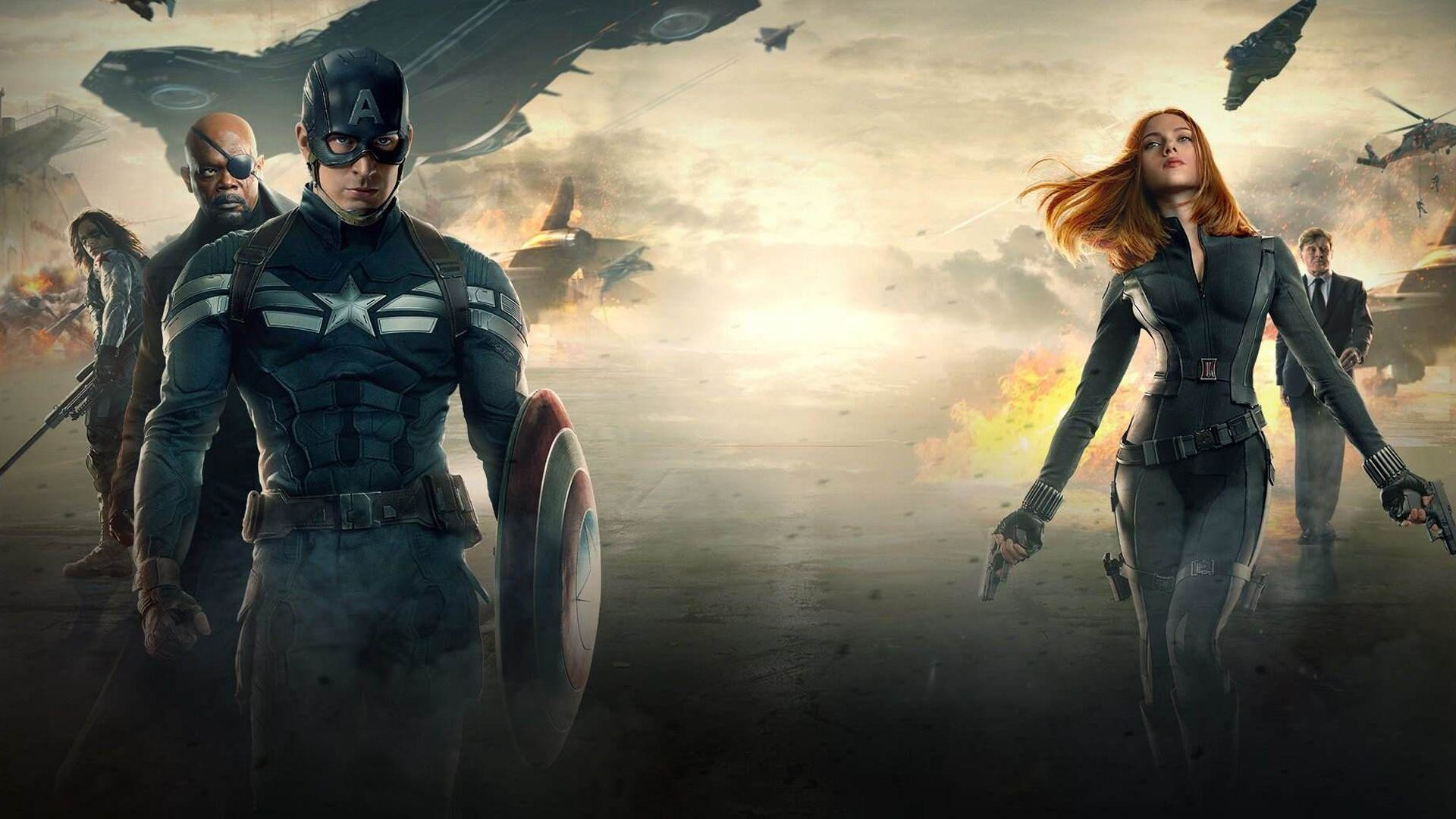 1920x1080 Captain America Winter Soldier Wallpaper - WallpaperSafari