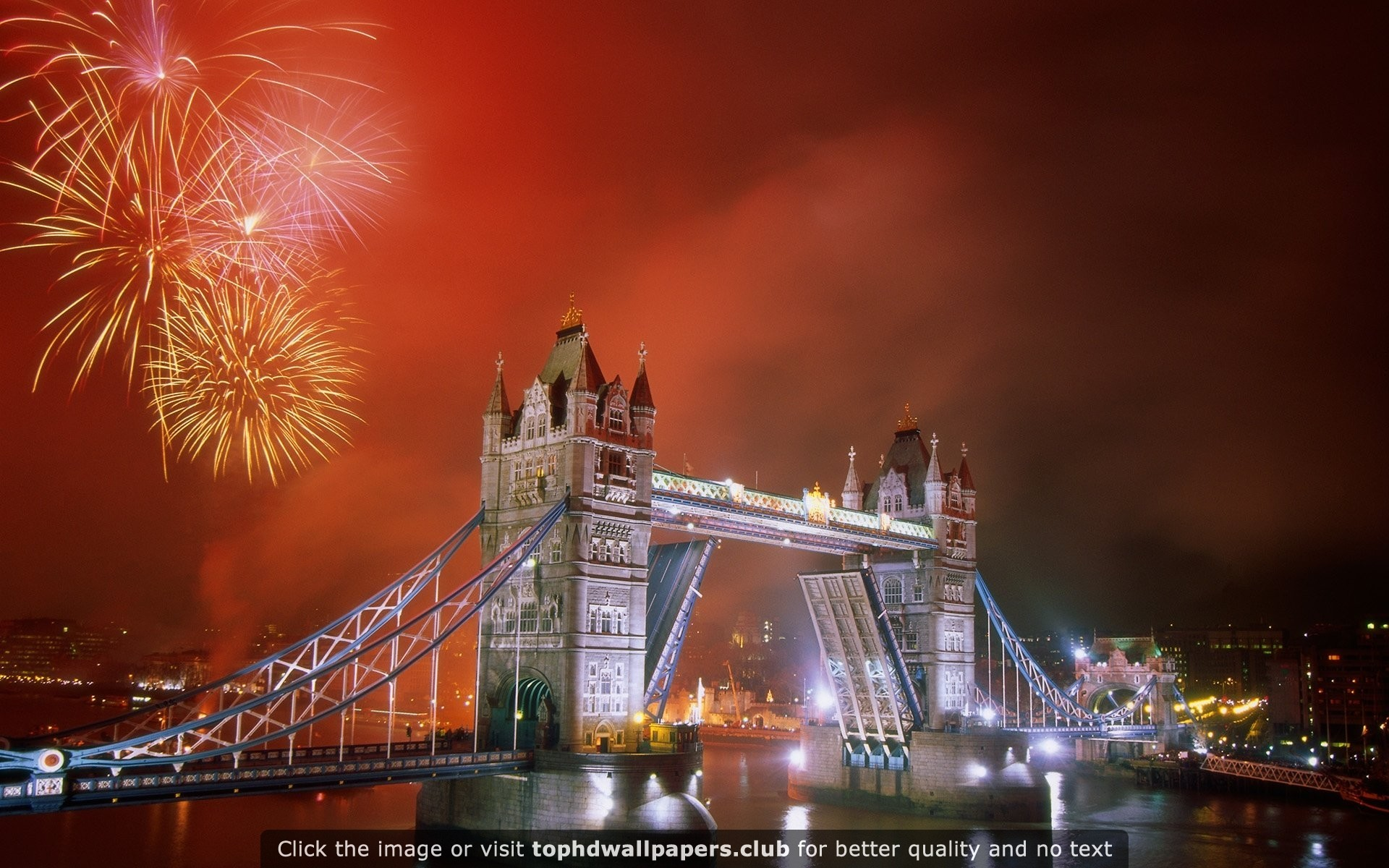 1920x1200 Light Up the Night Tower Bridge HD wallpaper for your PC, Mac or Mobile  device