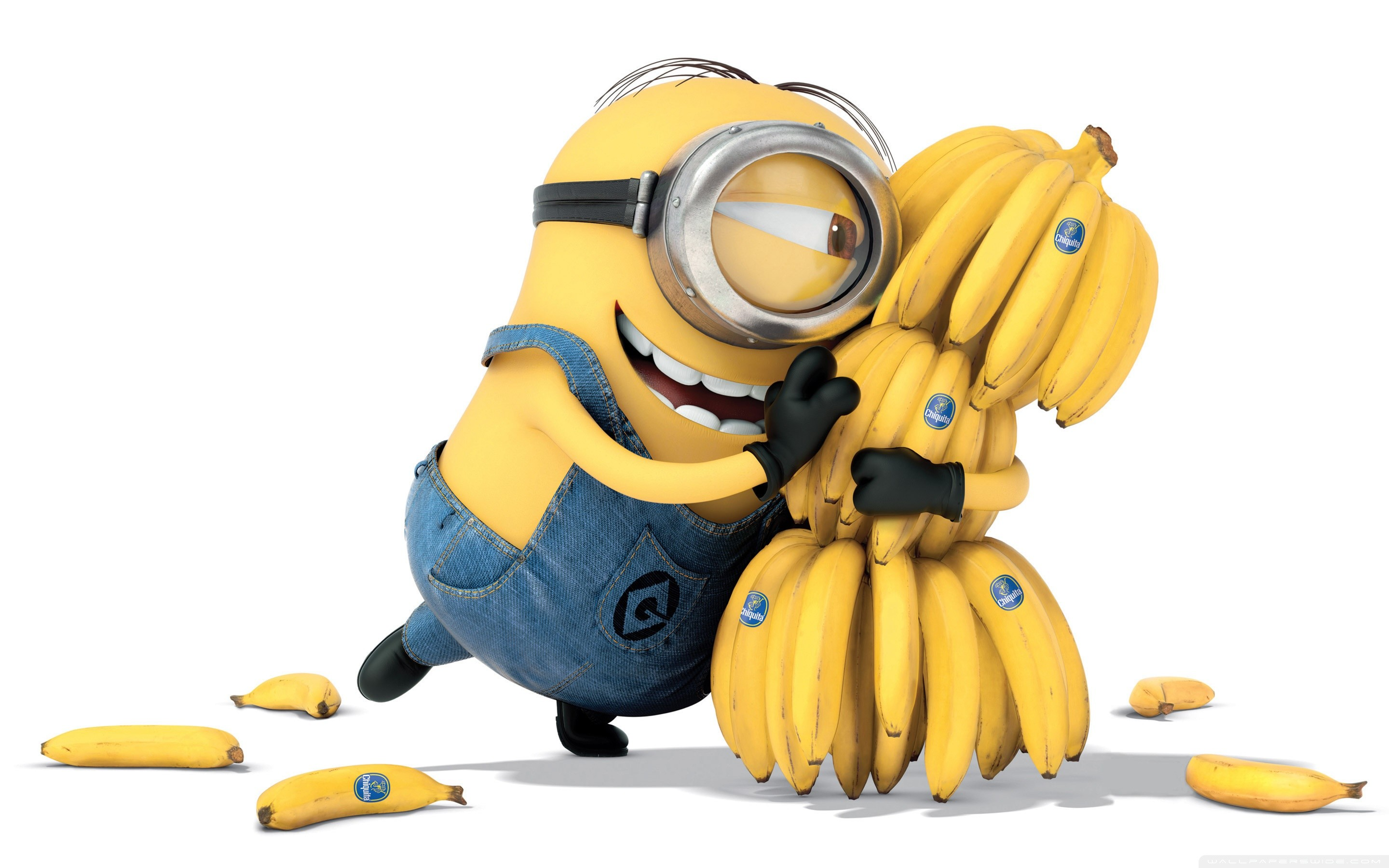 2880x1800 Minions Banana 2015 HD Wide Wallpaper for Widescreen