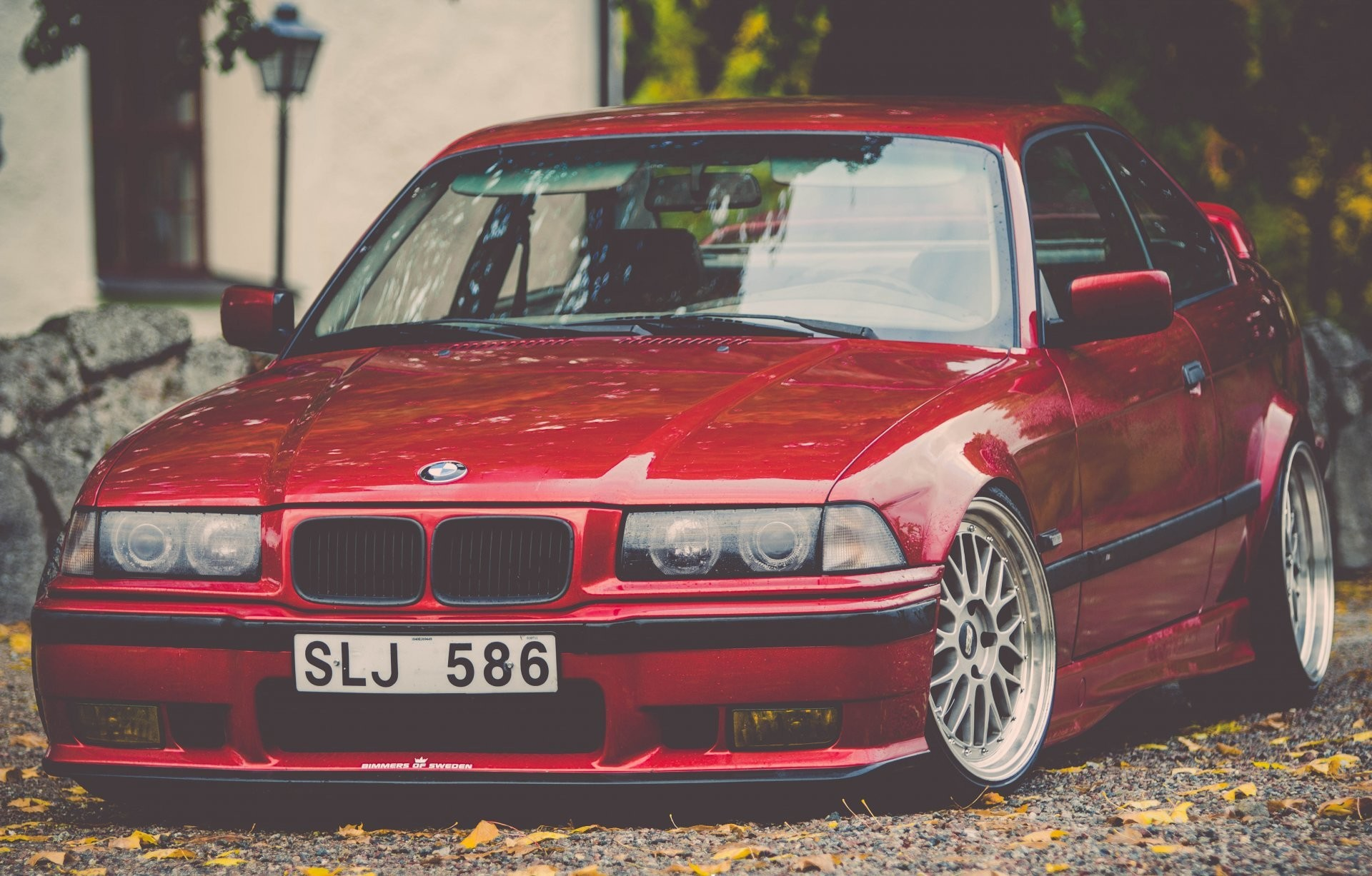 1920x1227 bmw e36 m3 bmw tuning stance red