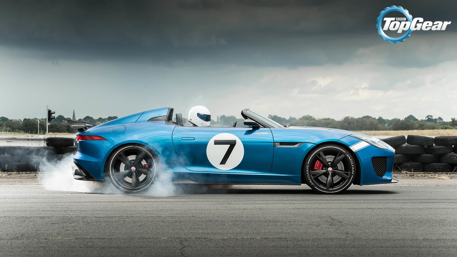 1920x1080 The Stig Drives Jaguar Project 7 Wallpaper - Image #3561 -