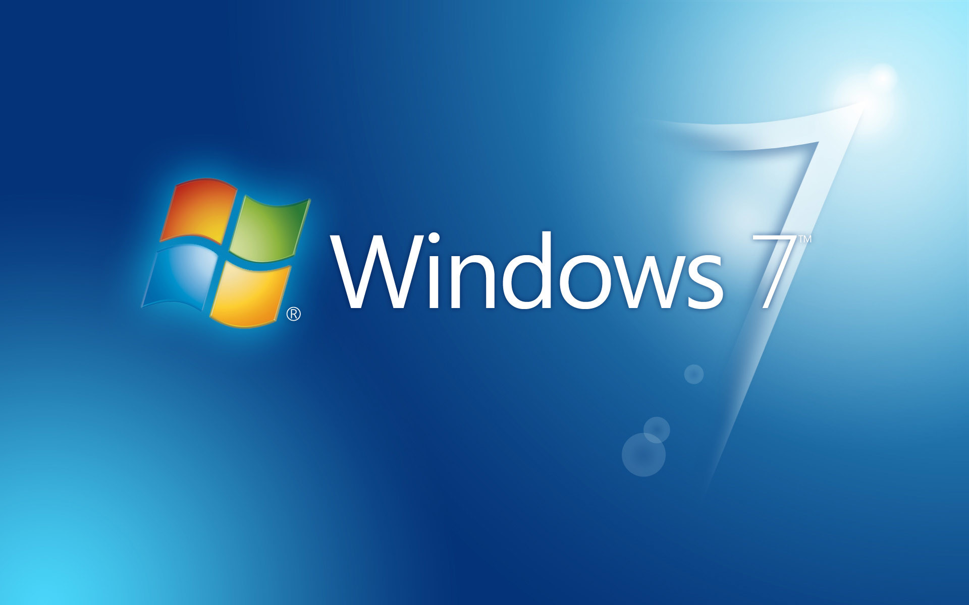 1920x1200 Microsoft Windows 7 HD Background Wallpaper