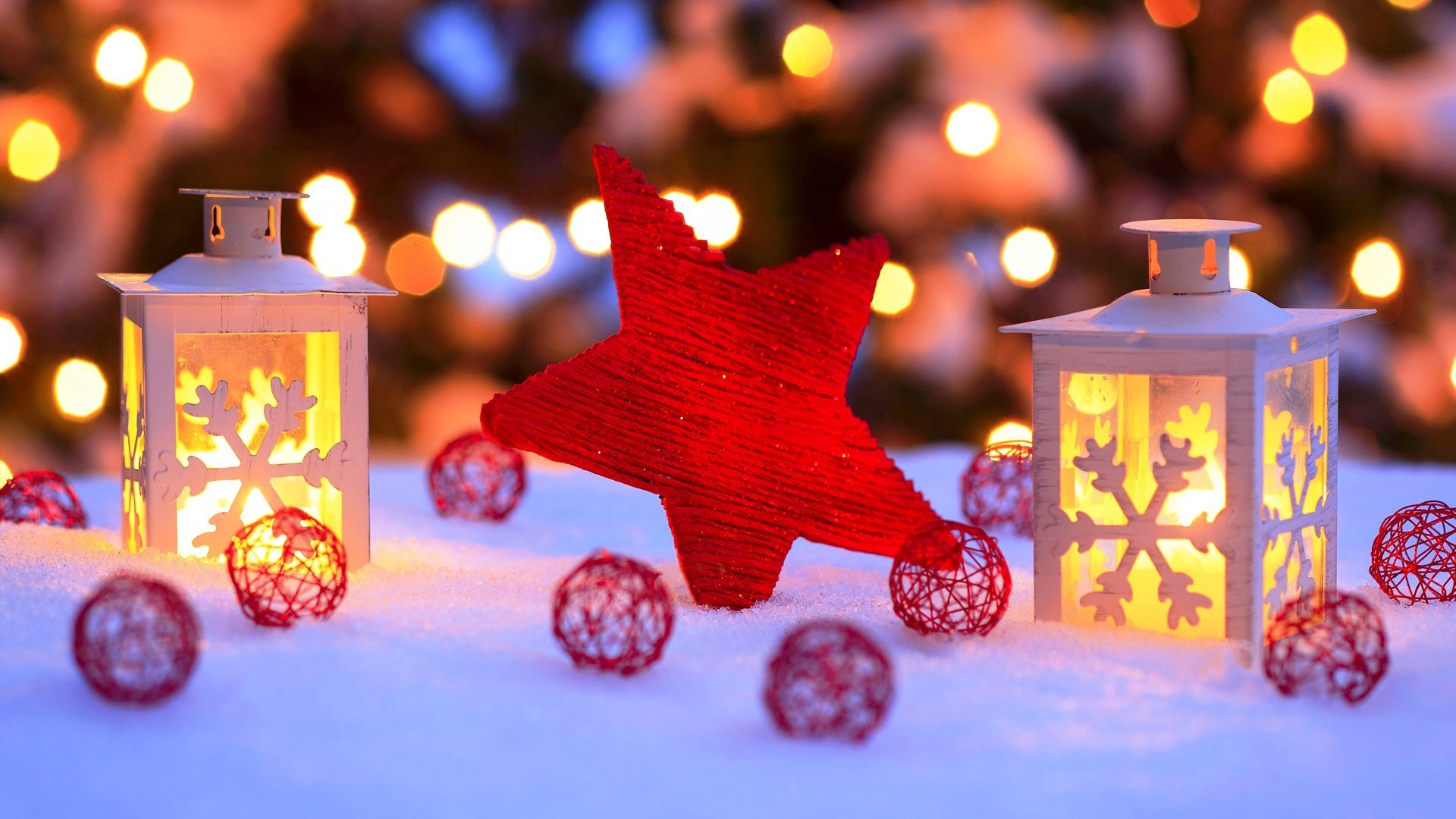 1920x1080 25 Best Colorful Christmas Wallpapers: 2014