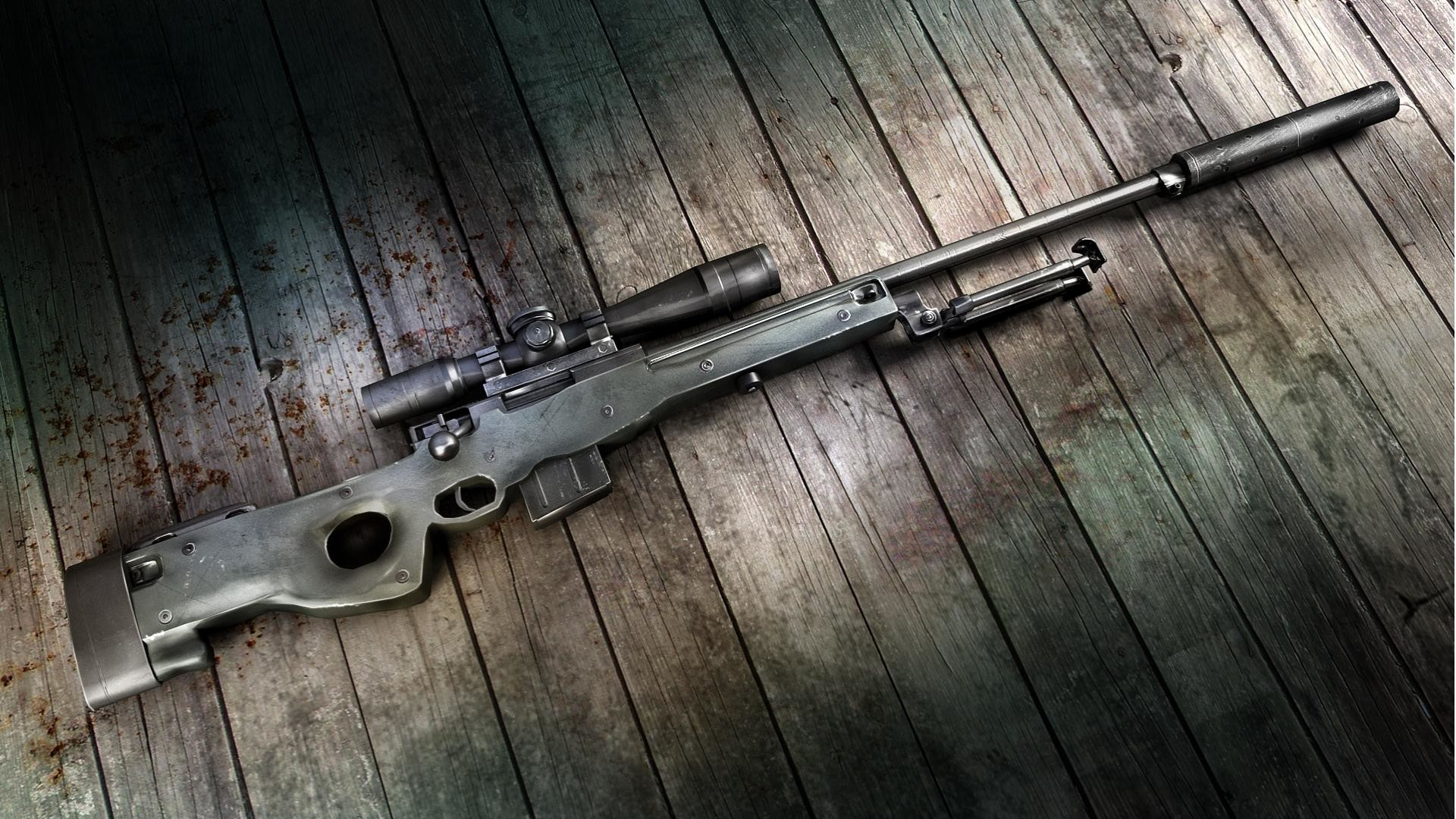 Pubg Guns Wallpapers: Sniper Rifle Wallpaper HD (79+ Images