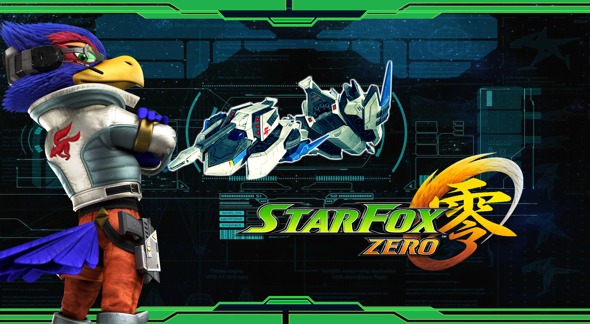 2000x1100 ... Star Fox Zero - Gravmaster Wallpaper by DaKidGaming
