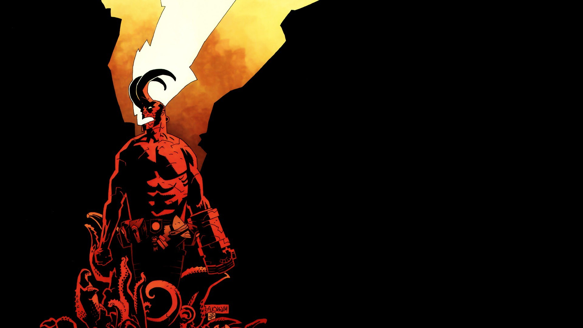 1920x1080 Hellboy, Comics Wallpapers HD / Desktop and Mobile Backgrounds