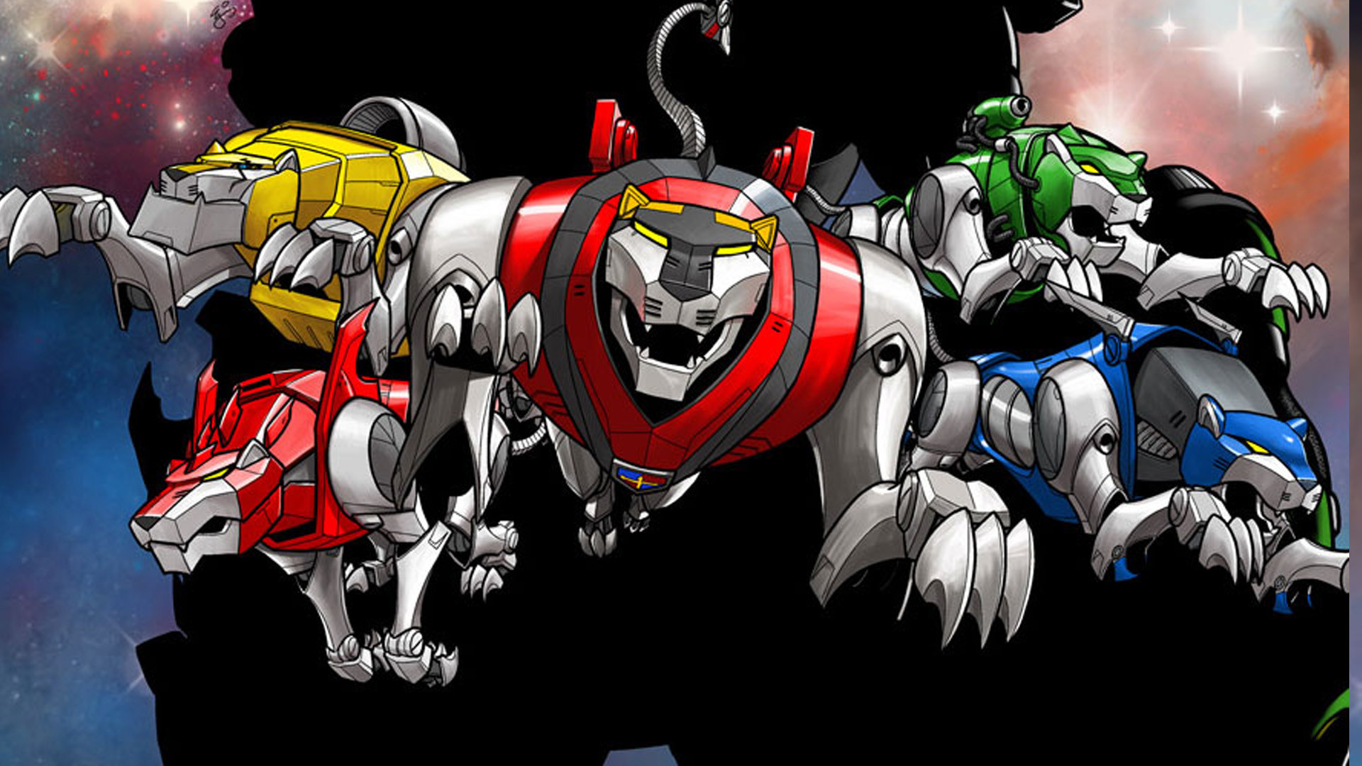 1920x1080 Voltron force wallpapers - zatch bell mamodo battles wallpapers and  screensavers