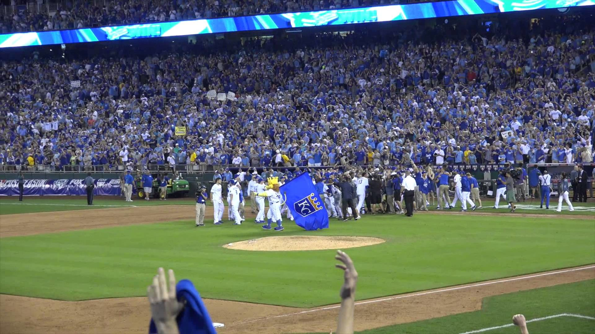 1920x1080 KC Royals Win! Royals Find Blue October! A's @ Royals 2014 Wild Card Game