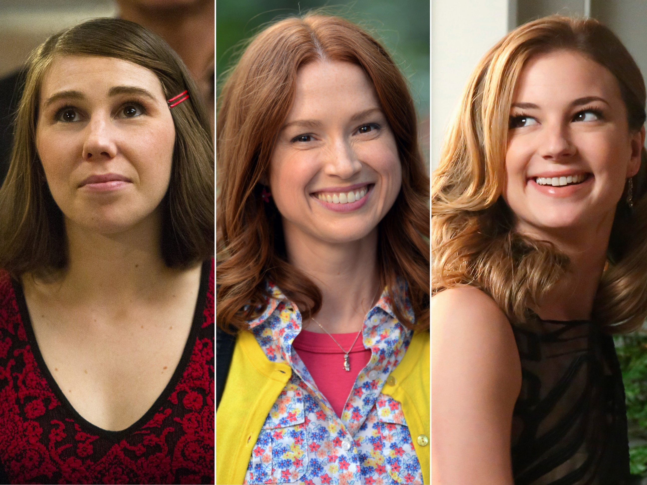 "2592x1944 PHOTO: Zosia Mamet appears in ""Girls,"" Ellie Kemper in ""The Unbreakable  Kimmy Schmidt,"" and Emily VanCamp in ""Revenge."" - ABC News"