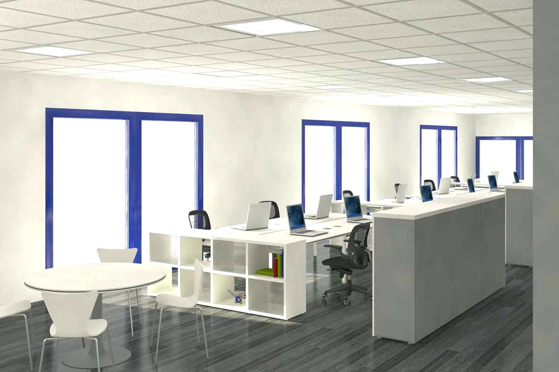 3d office wallpaper 47 images for Open design furniture