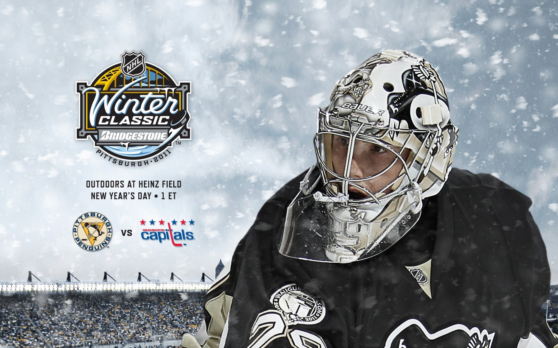 1920x1200 Pittsburgh Penguins Winter Classic