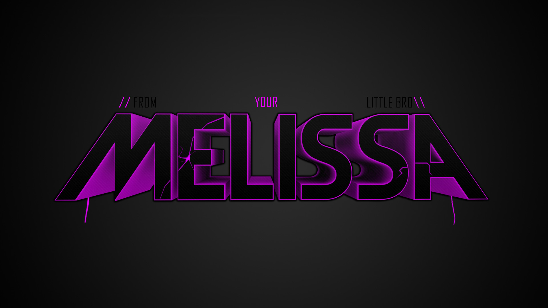 1920x1080 Melissa Name Wallpaper. Find this Pin and more on M ...