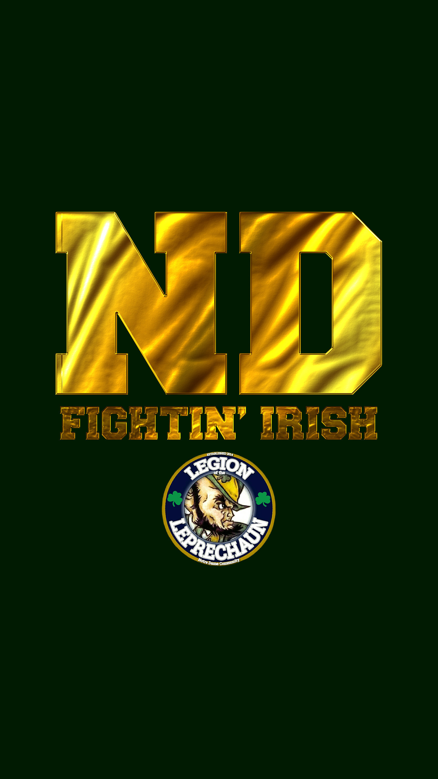 1440x2560 1920x1080 Wallpapers // Proud to Be ND // University of Notre Dame