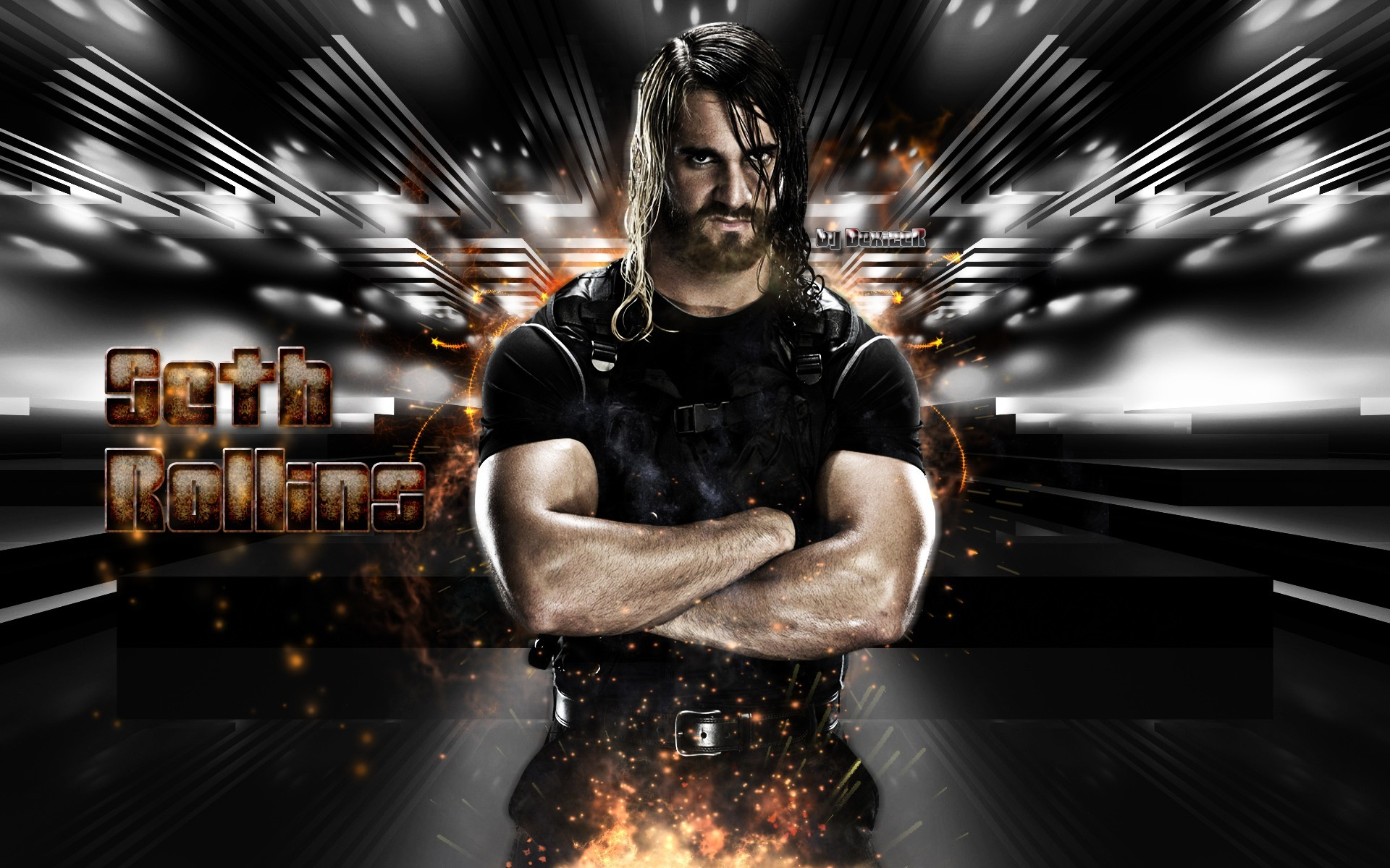 1920x1200 WWE Superstar Seth Rollins Wallpapers - New HD Wallpapers