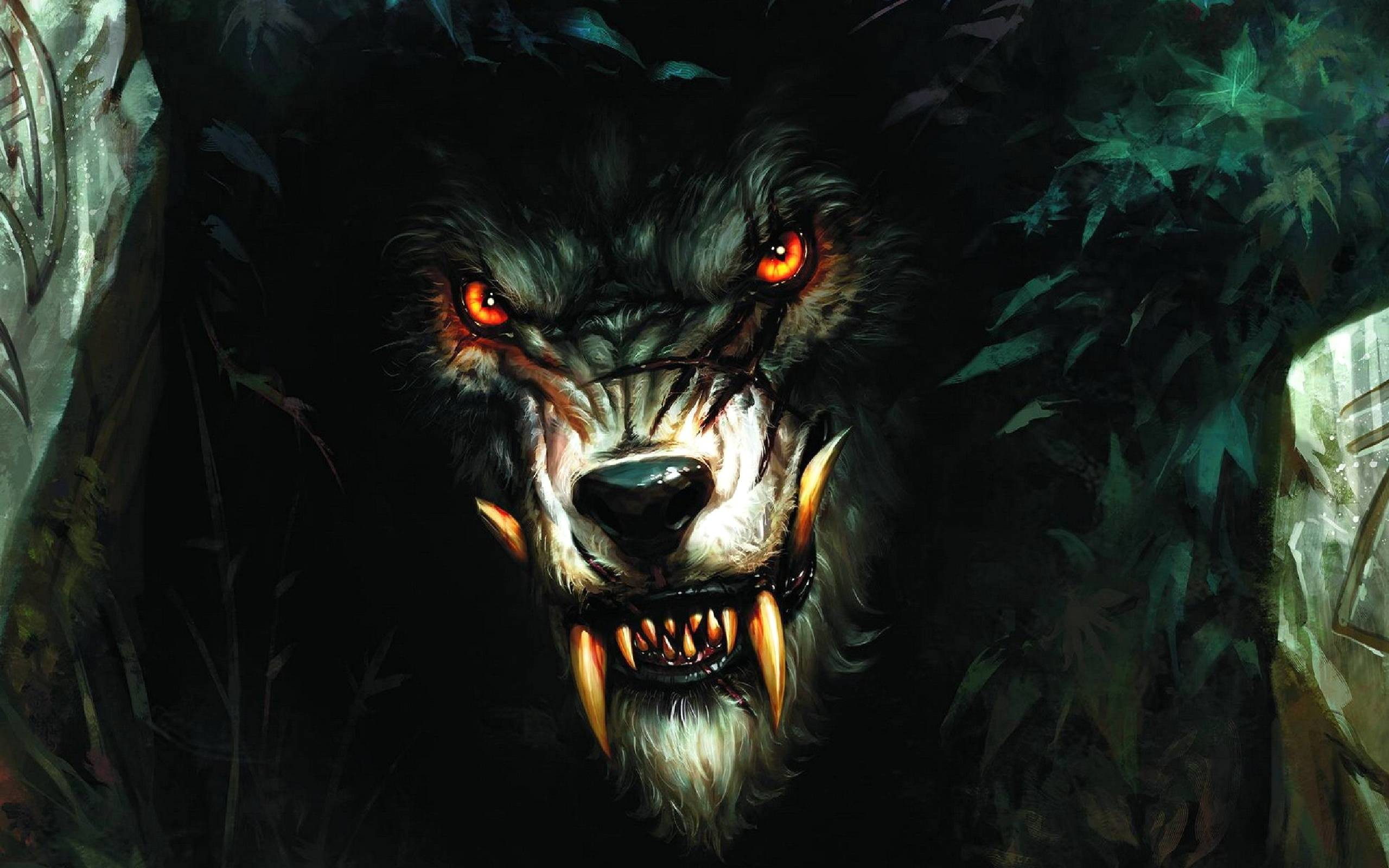 2560x1600 Pix For > Halloween Werewolf Wallpaper