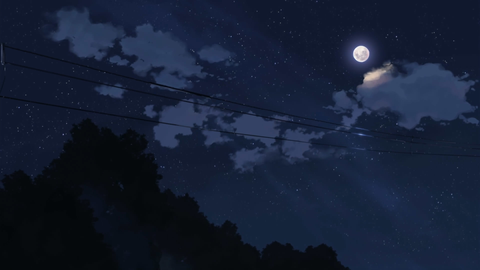 1920x1080 Anime Night Sky Background Download anime night sky wallpaper 5776 #7045