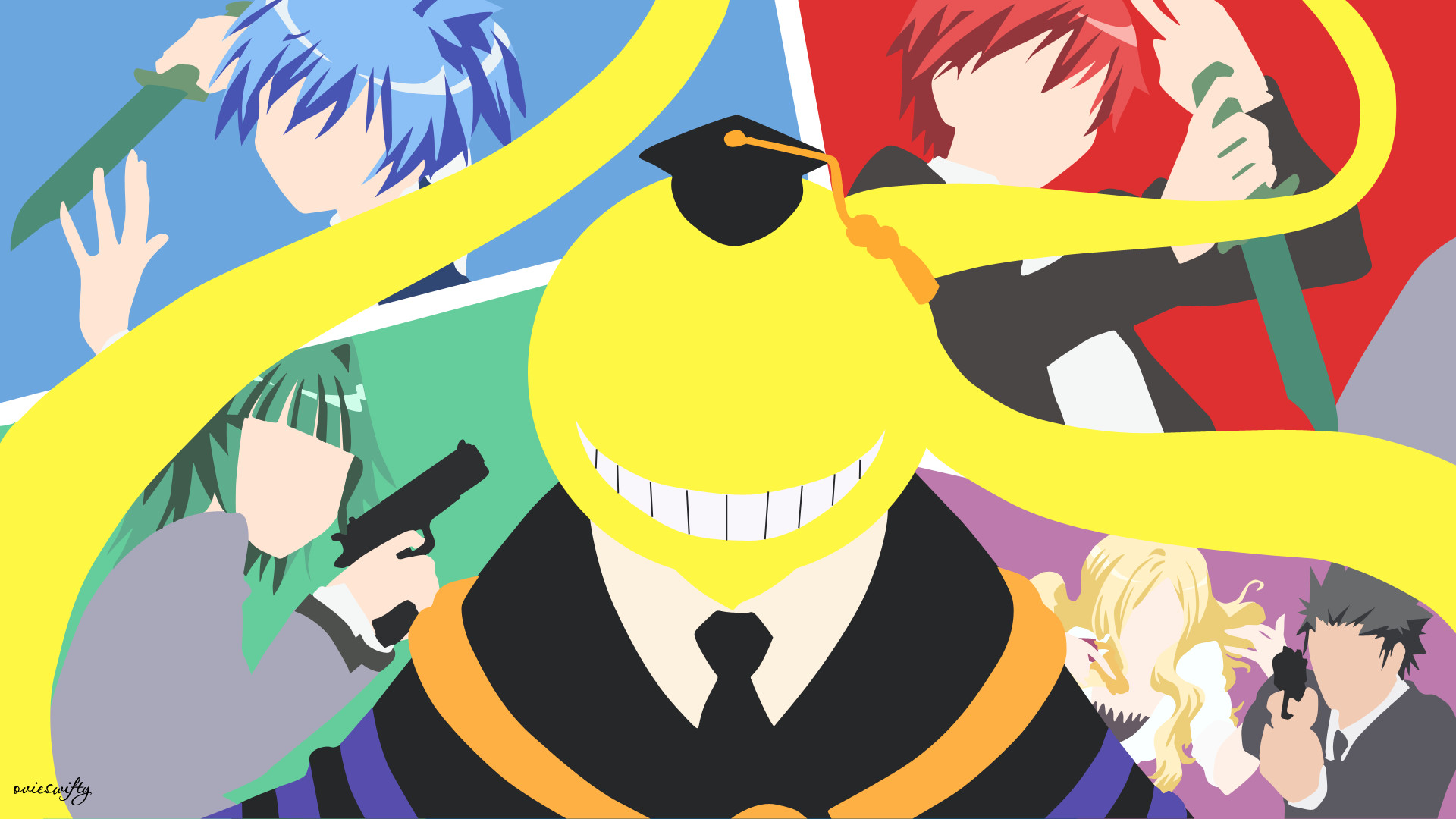 1920x1080 Full 100% Quality HD, Assassination Classroom, Ciara Bagnall