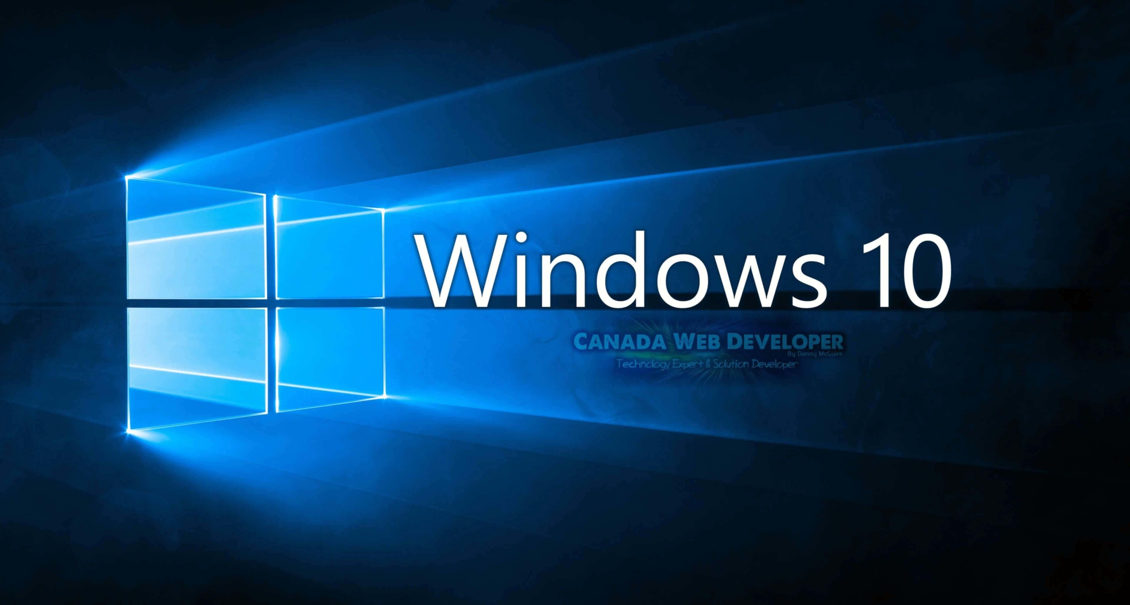 3840x2160 Orange Black Windows 10 HD Wallpaper