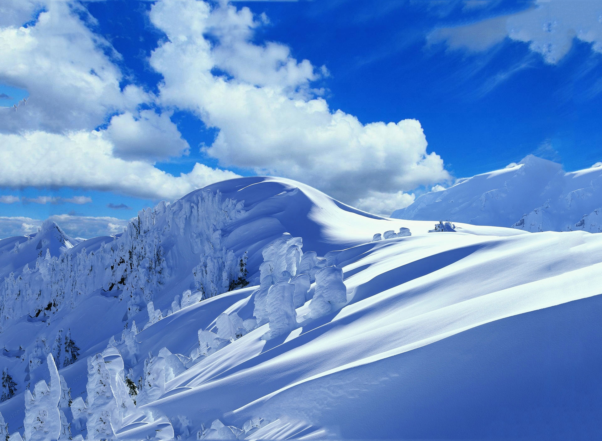 Snowy Background With Mountain: Snowy Mountains Wallpaper (77+ Images