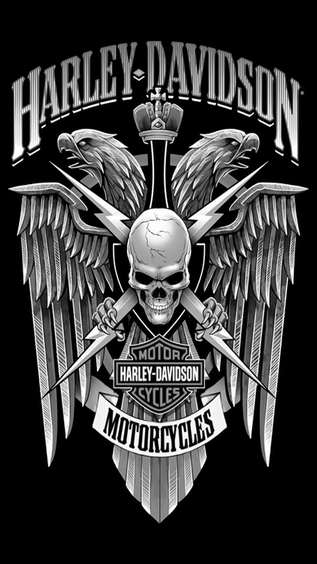 1080x1920 Checkout this Wallpaper for your iPhone: http://zedge.net/w10615488 · Harley  Davidson TattoosHarley ...